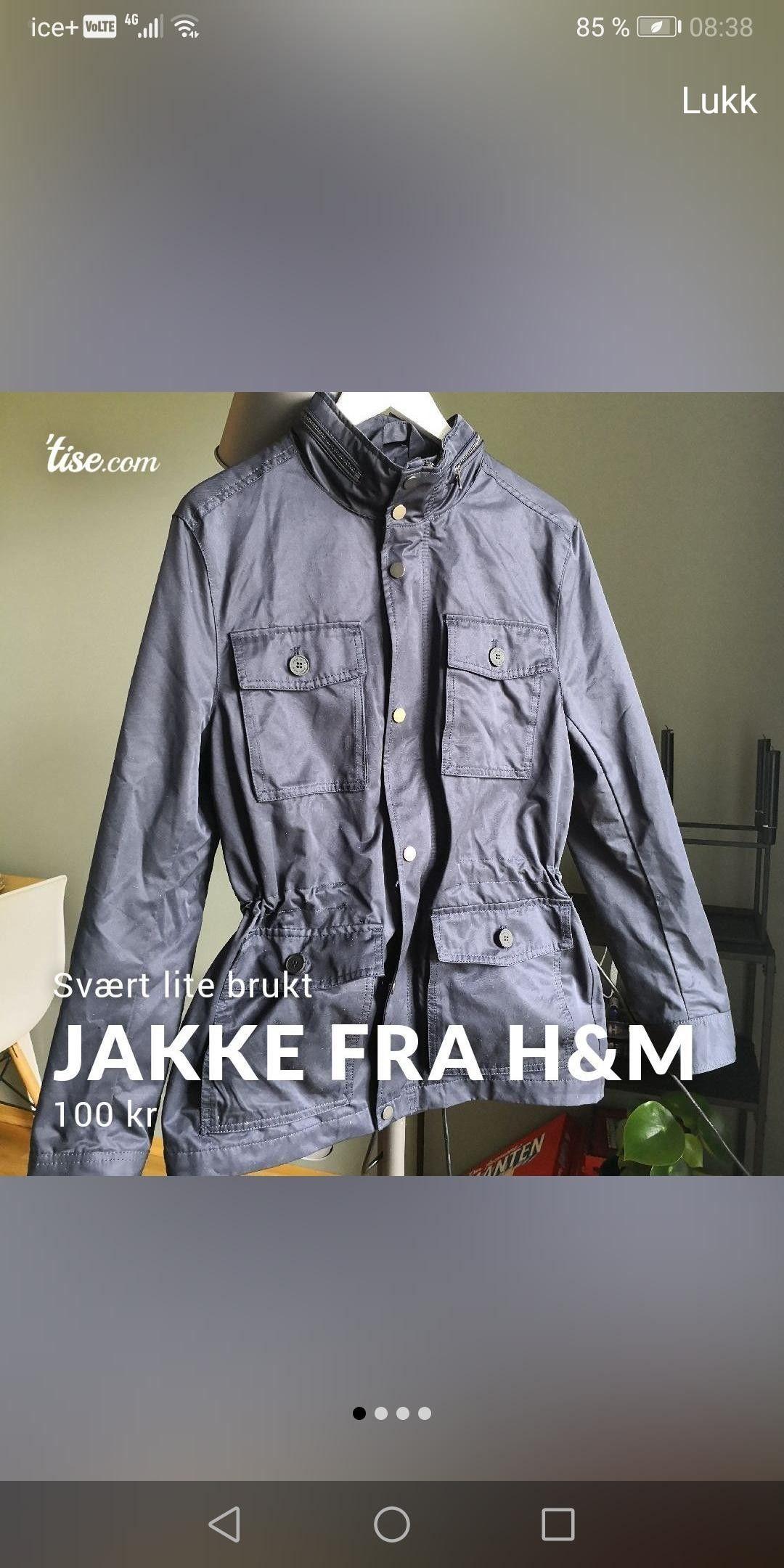 Jakke fra H&M | FINN.no