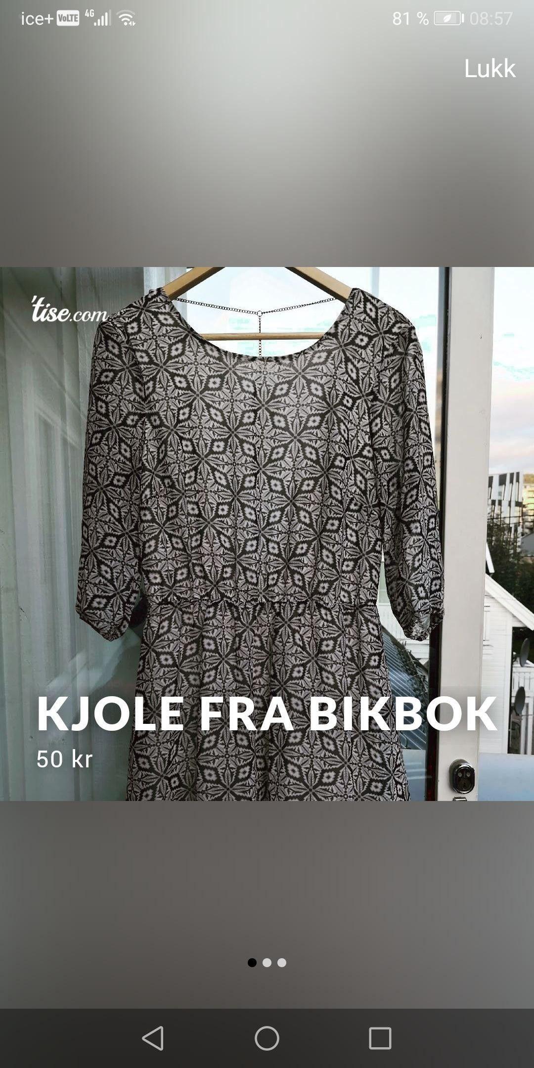 Kjole fra BikBok | FINN.no