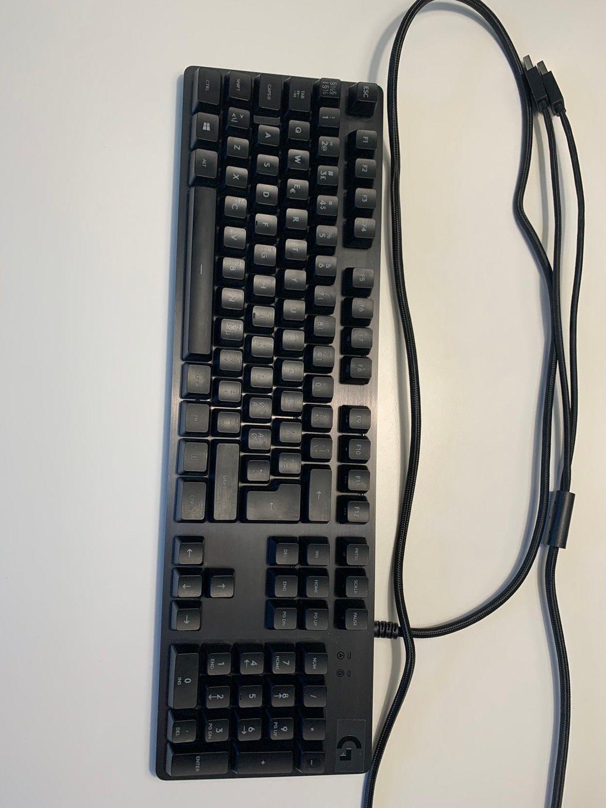 Logitech G413 Mekanisk tastatur Gaming tastatur |
