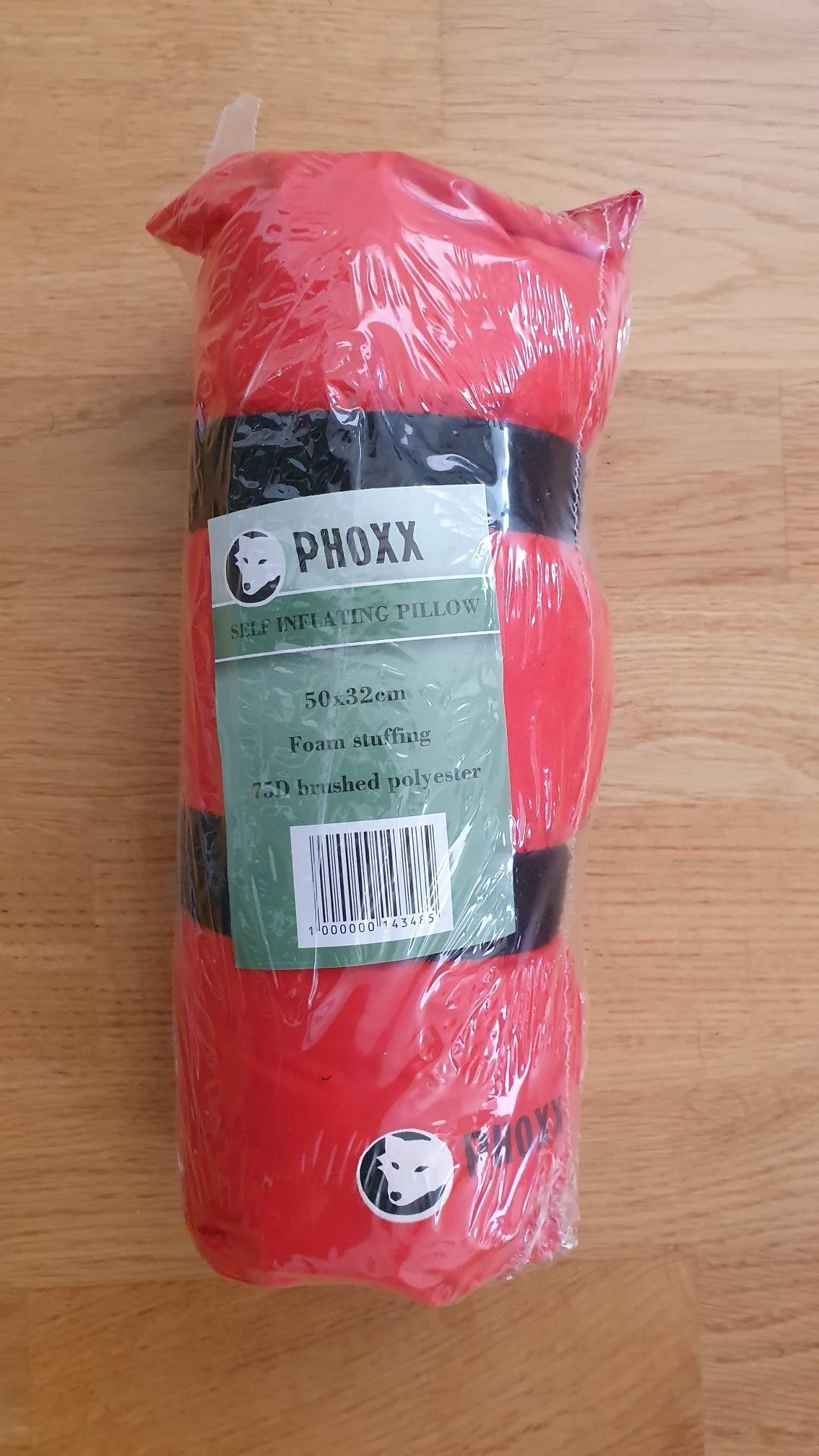 Phoxx Selvoppblåsbar pute Oransje Når du skal sove | XXL