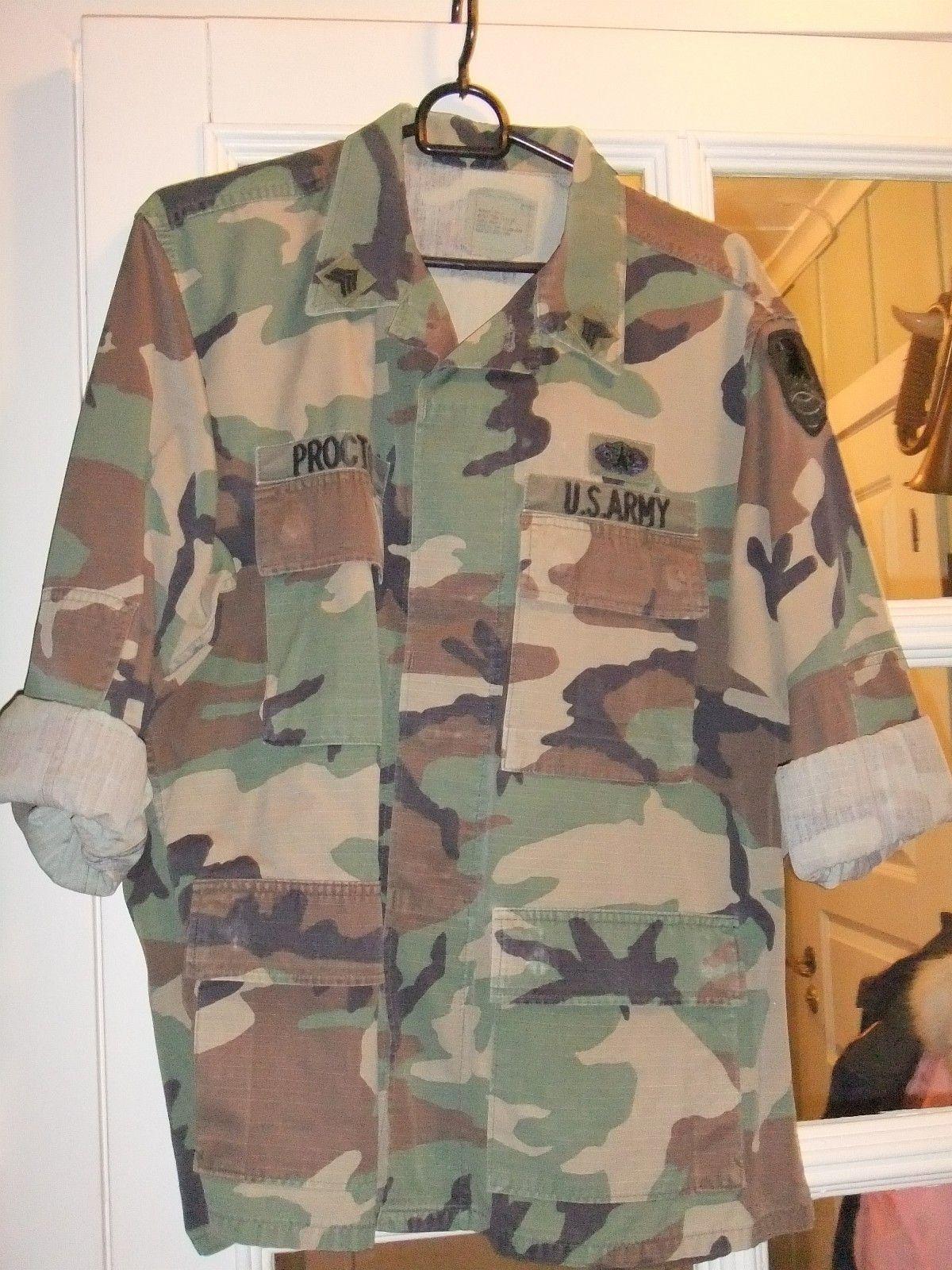 USA Bdu skjorte jakke Original Nye | Fruugo NO