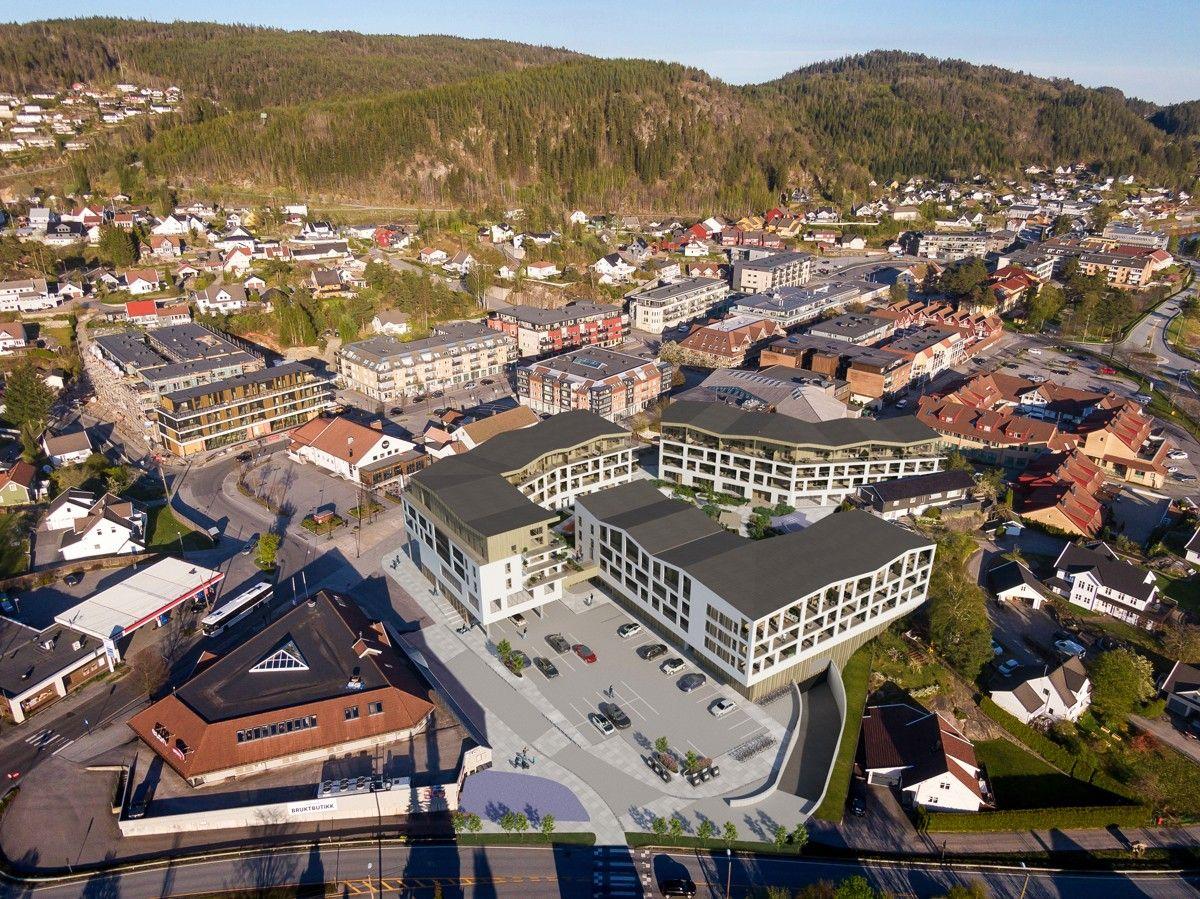 Sentrumsvegen, Vennesla | Sørmegleren