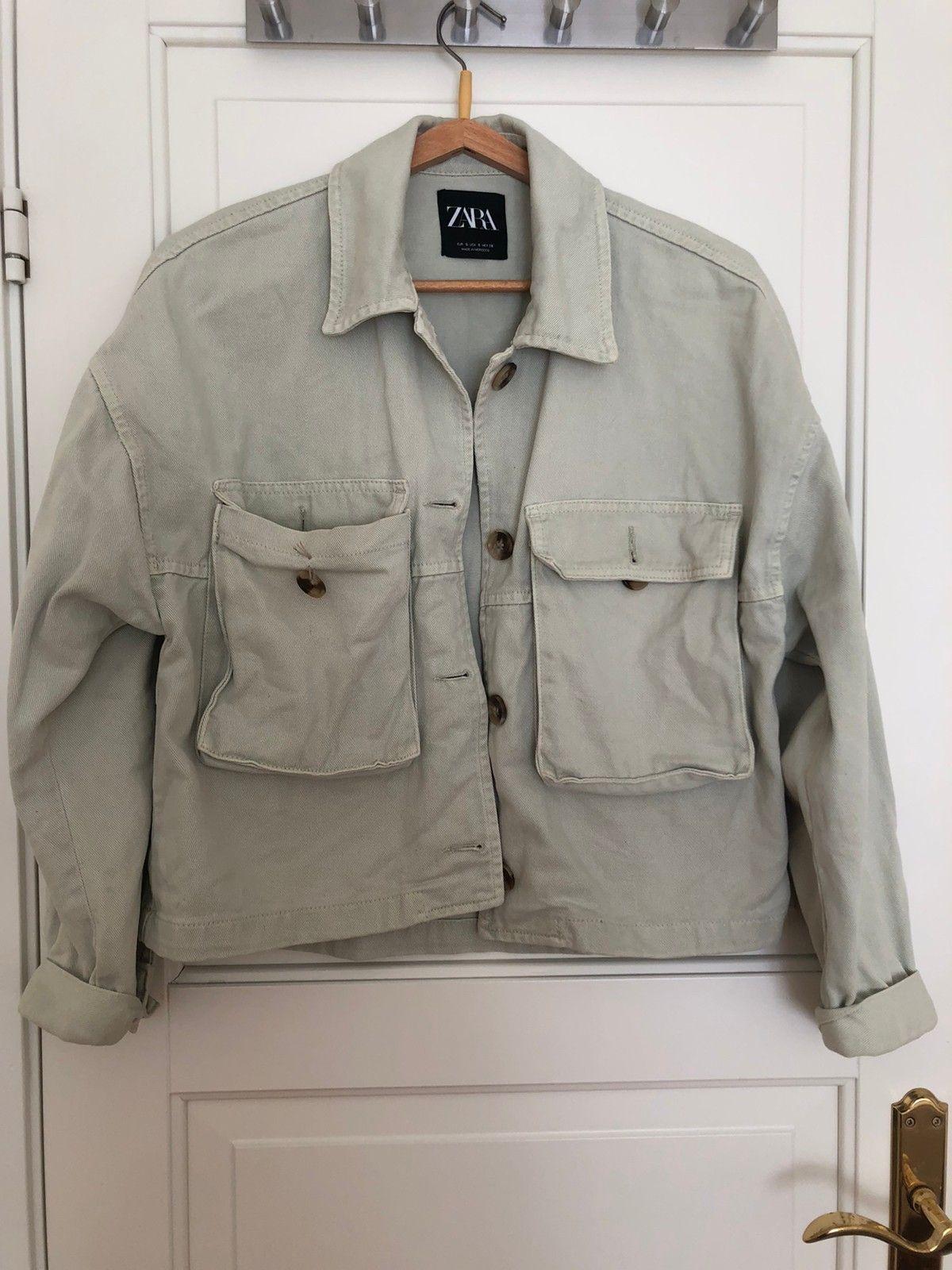 Grønn jakke fra Zara NY PRIS | FINN.no
