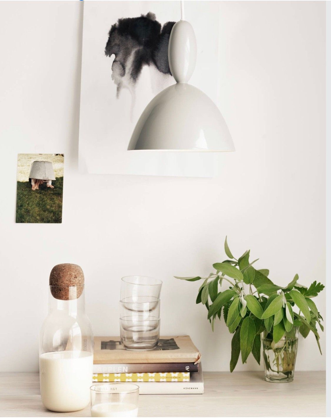 2 hvite Muuto Mhy lamper | FINN.no