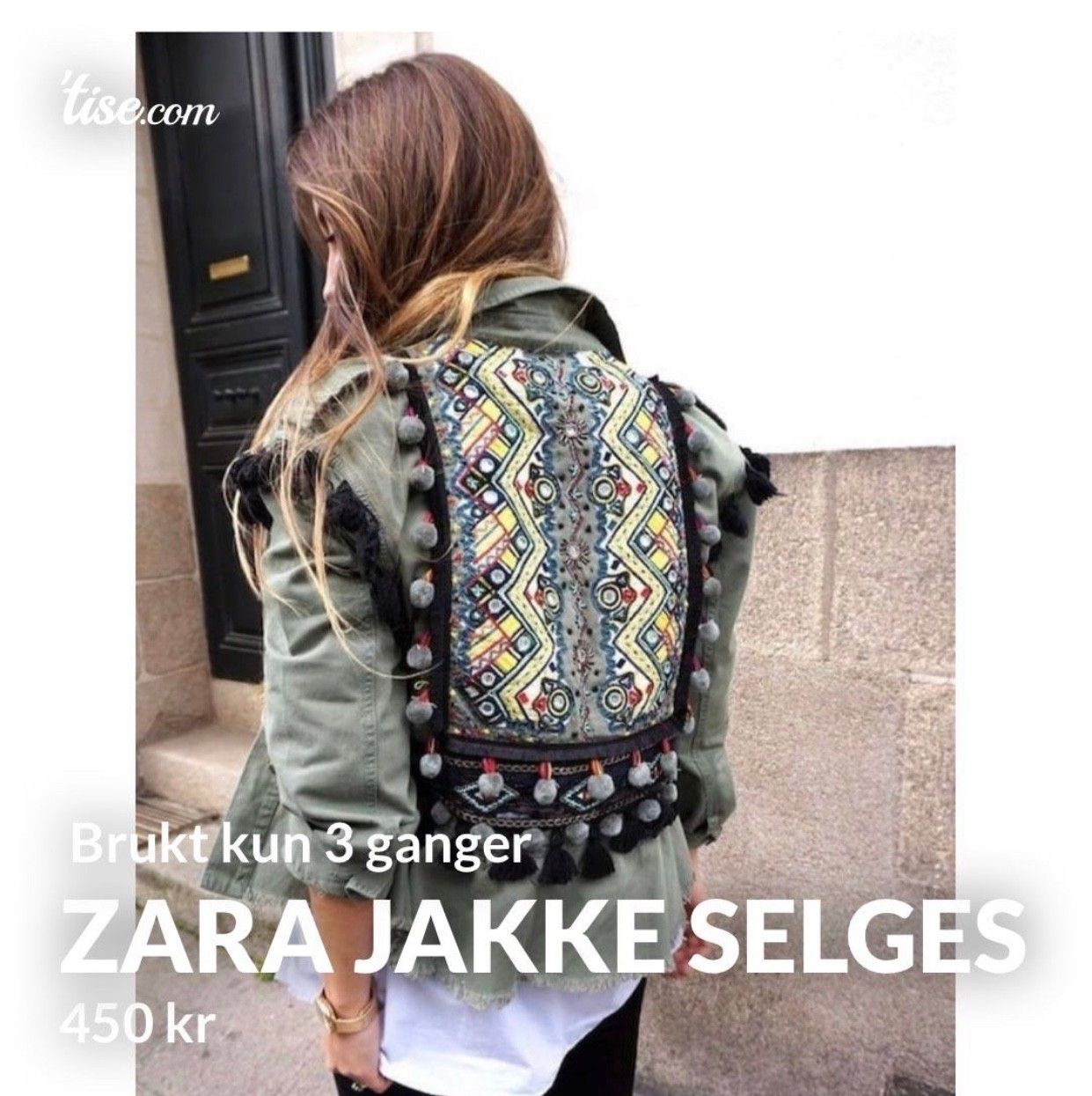 Populær Zara jakke selges billig   FINN.no