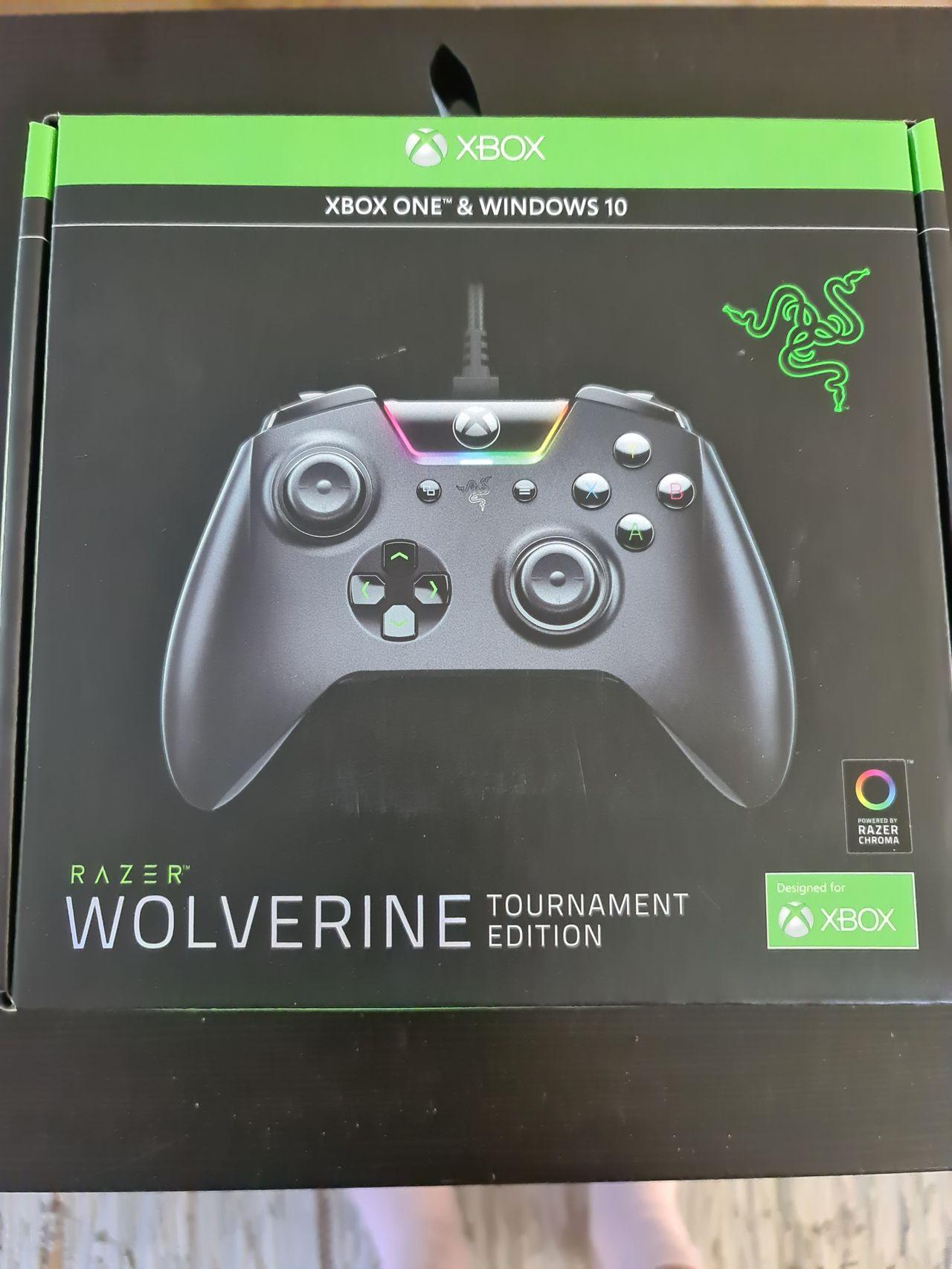 Razer Wolverine TE Xbox One kontroller Kontroller og ratt