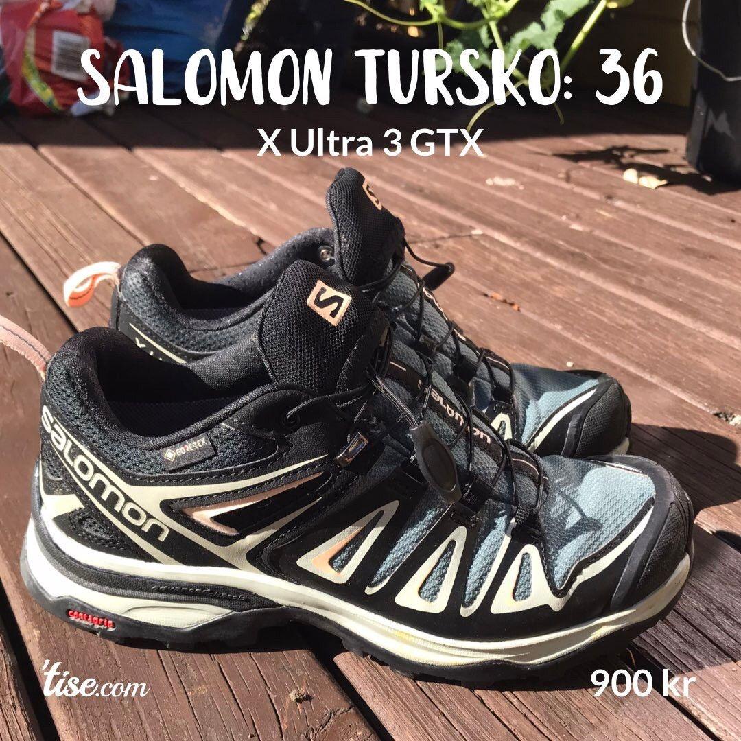 Salomon X Ultra Sko Dame str 42 | FINN.no