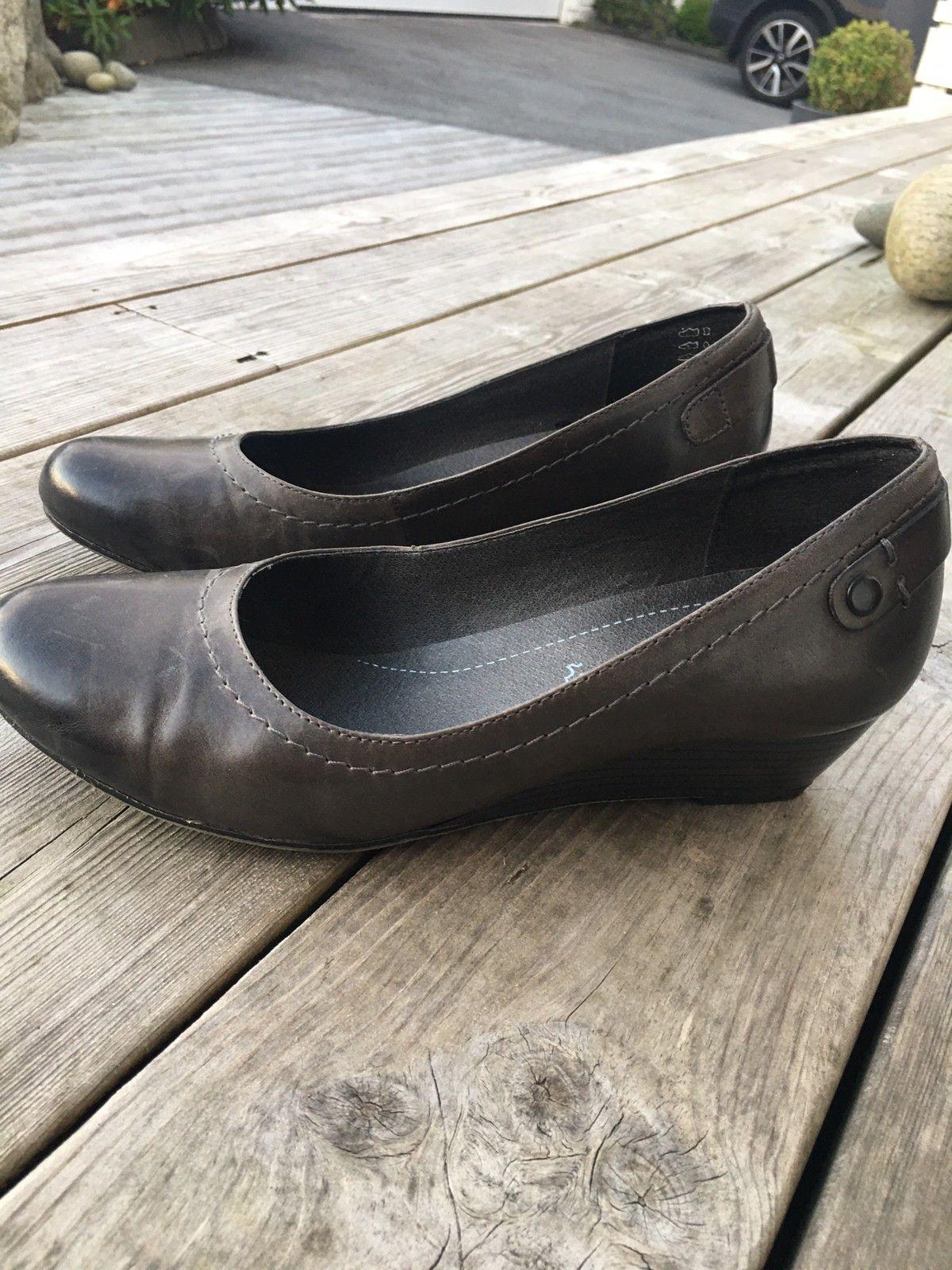 Jana sko i skinn, brukt 1 gang | FINN.no
