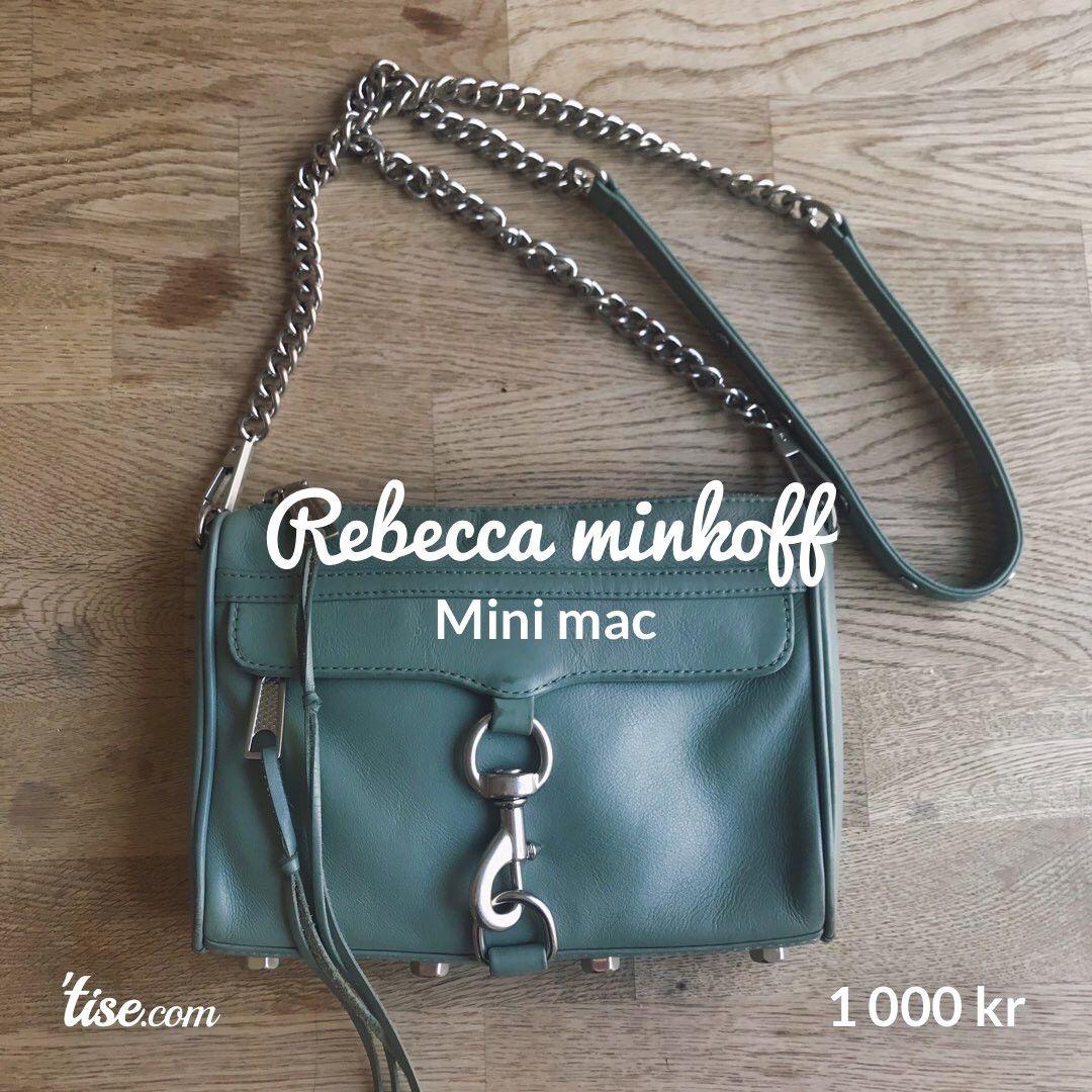 Ny Rebecca Minkoff Mini Mac | FINN.no