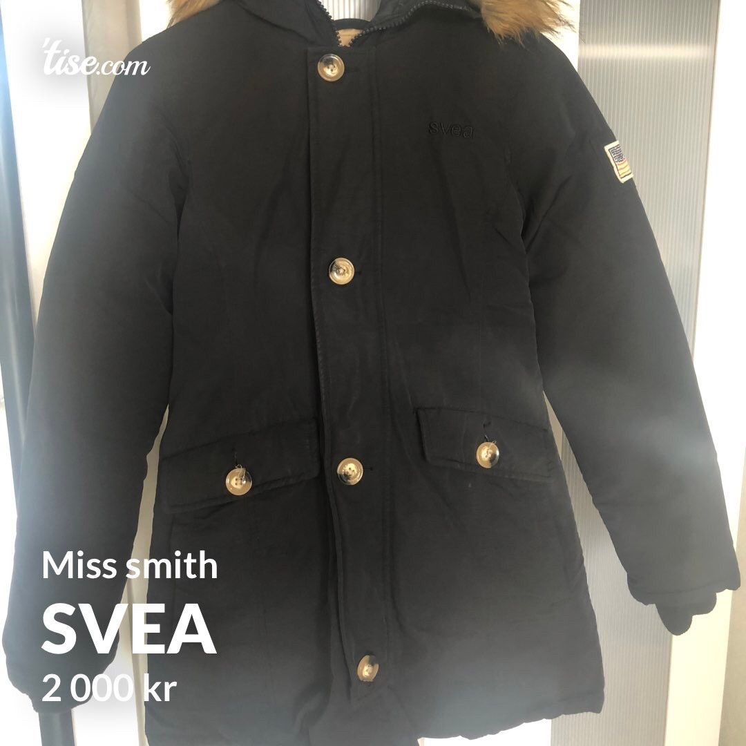 Svea miss smith • Tise