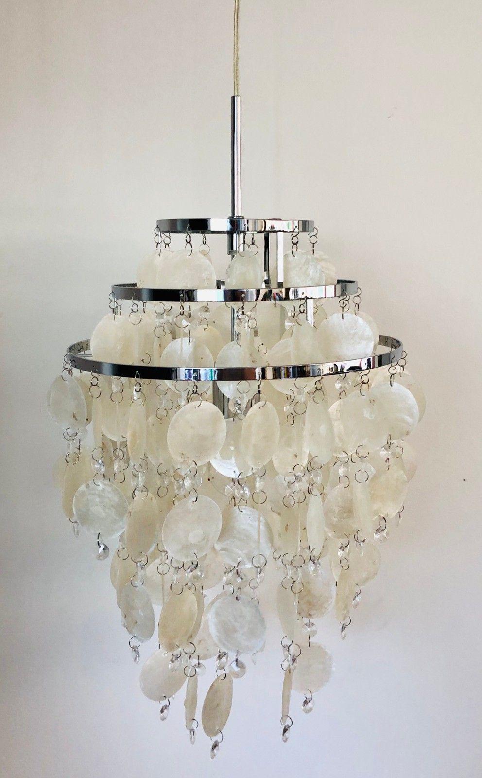Chipsy taklampe i KromPerlemor | FINN.no