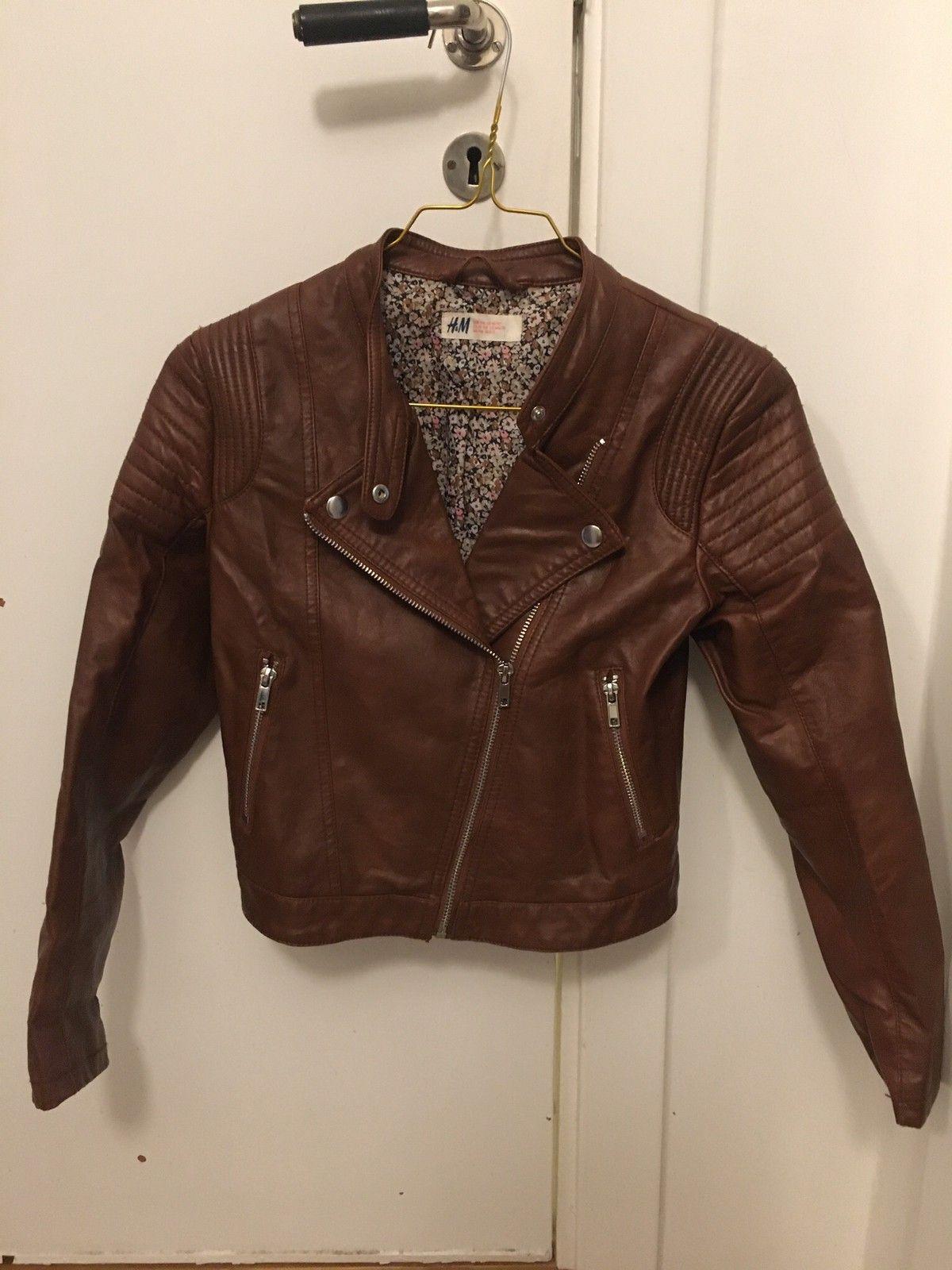 2 nydelige jakker i imitert skinn | FINN.no