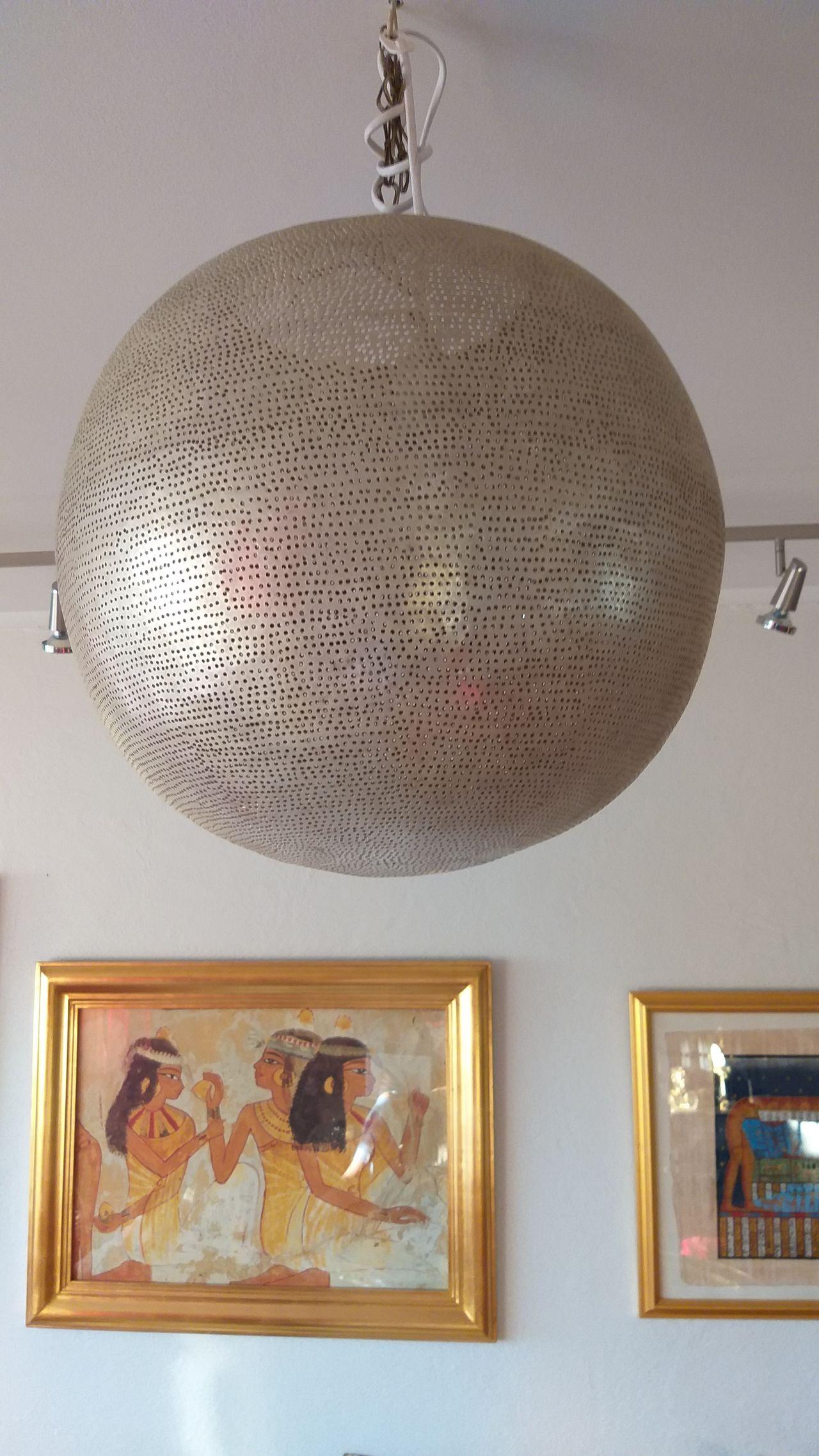 Orientalske lamper 3 stk og dekorative bokser i tre   FINN.no