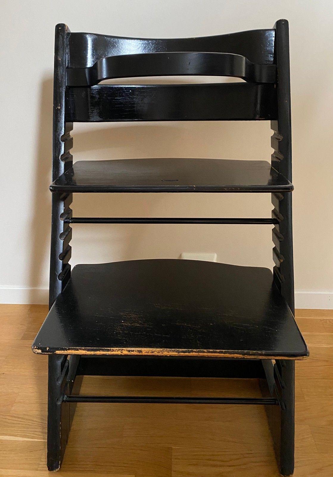 Tripp trapp stol med bøyle   FINN.no