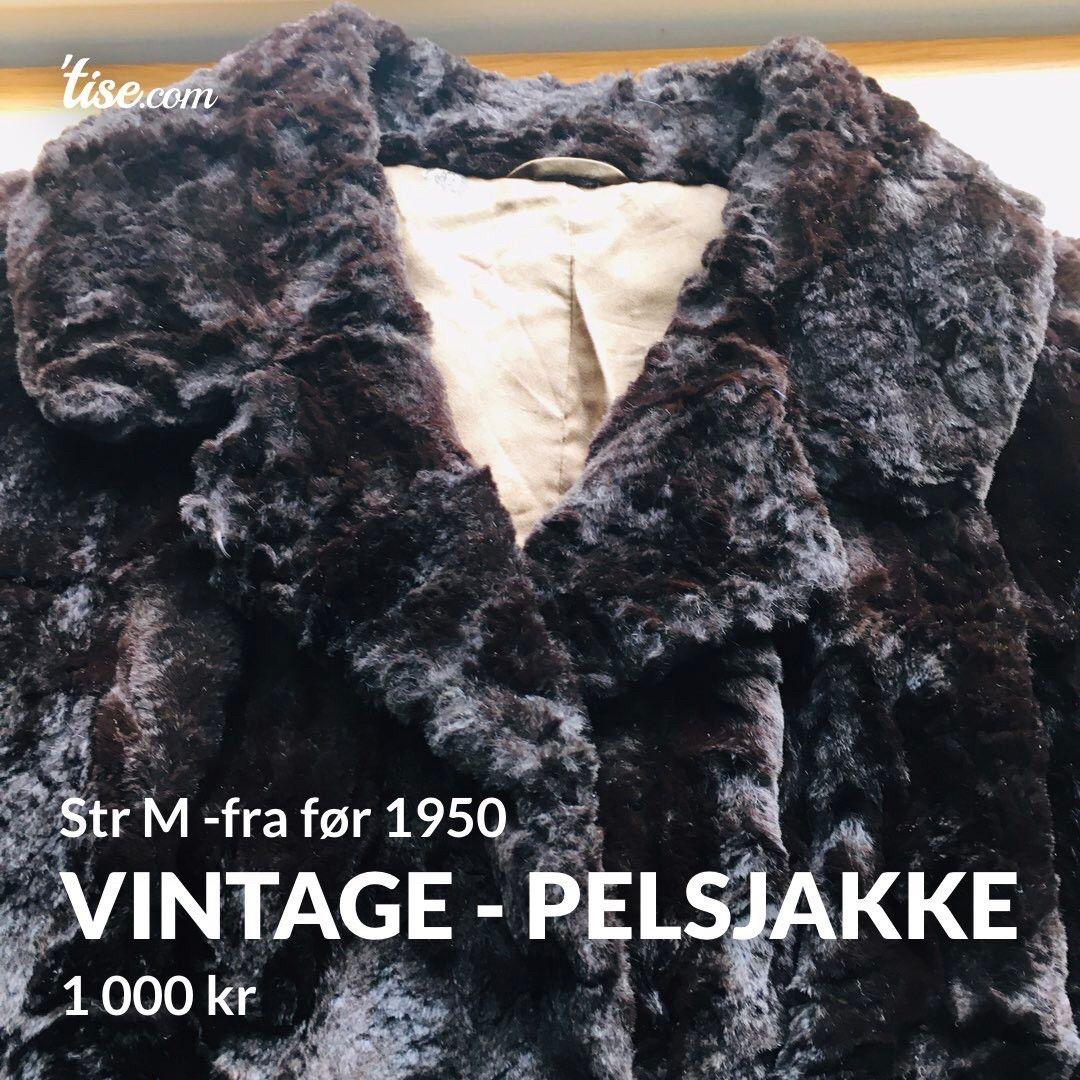 Vintage persianer kåpe A.C. Bang. | FINN.no