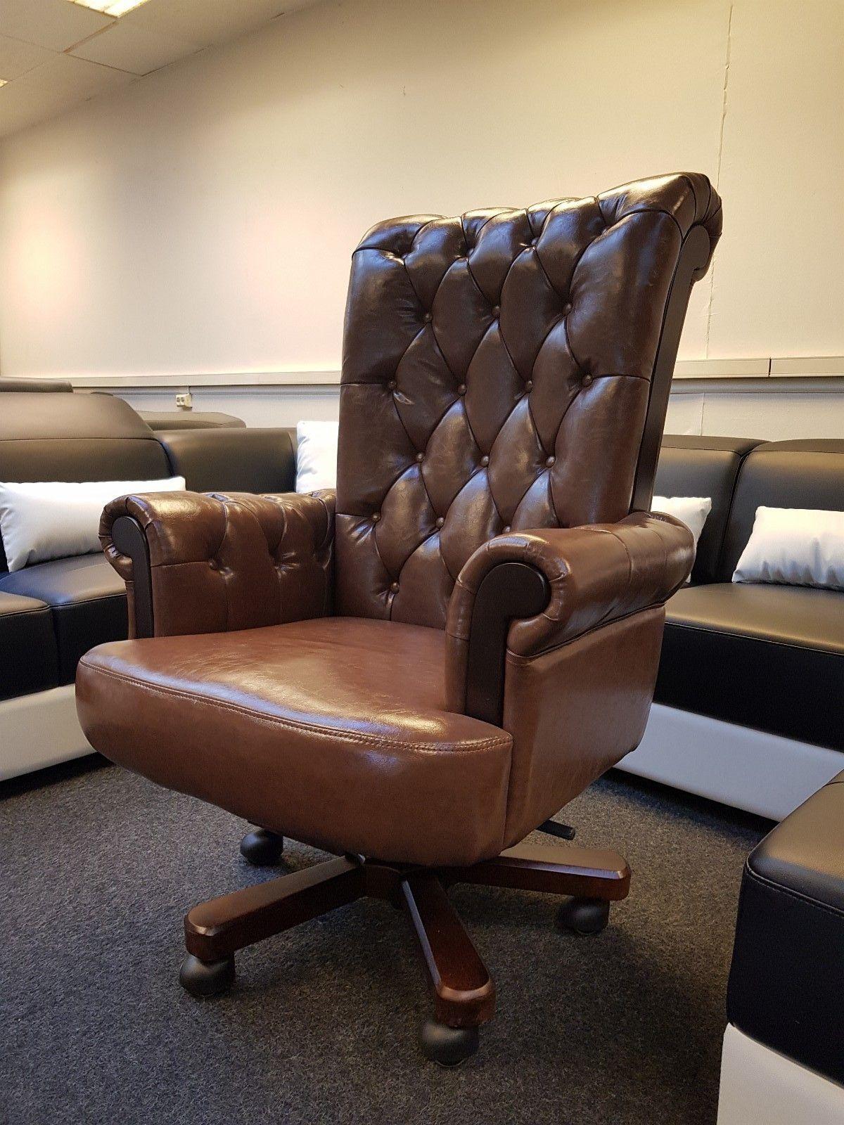 Komfort Antikk klassisk kontorstol. | FINN.no
