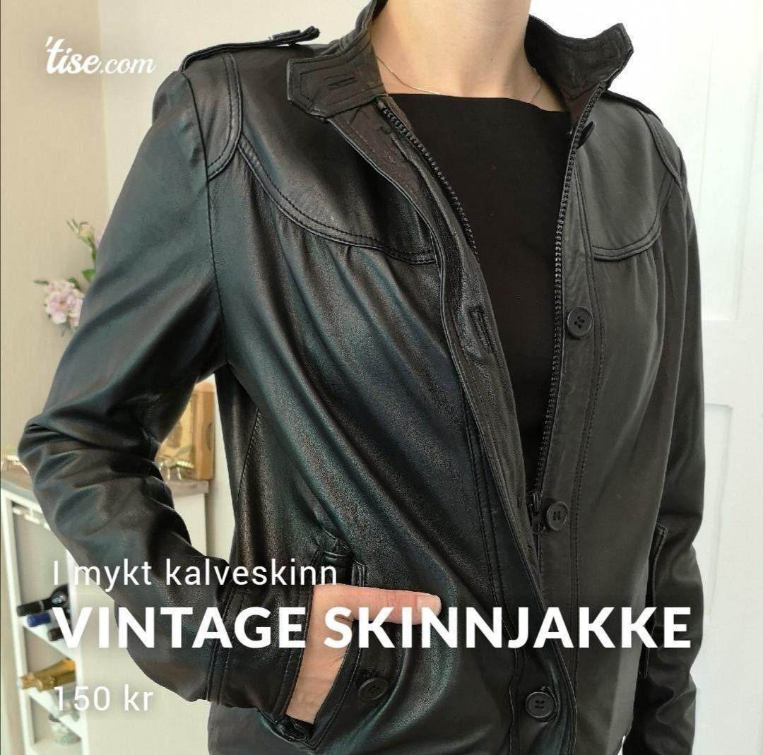 Vintage Skinnjakker | FINN.no