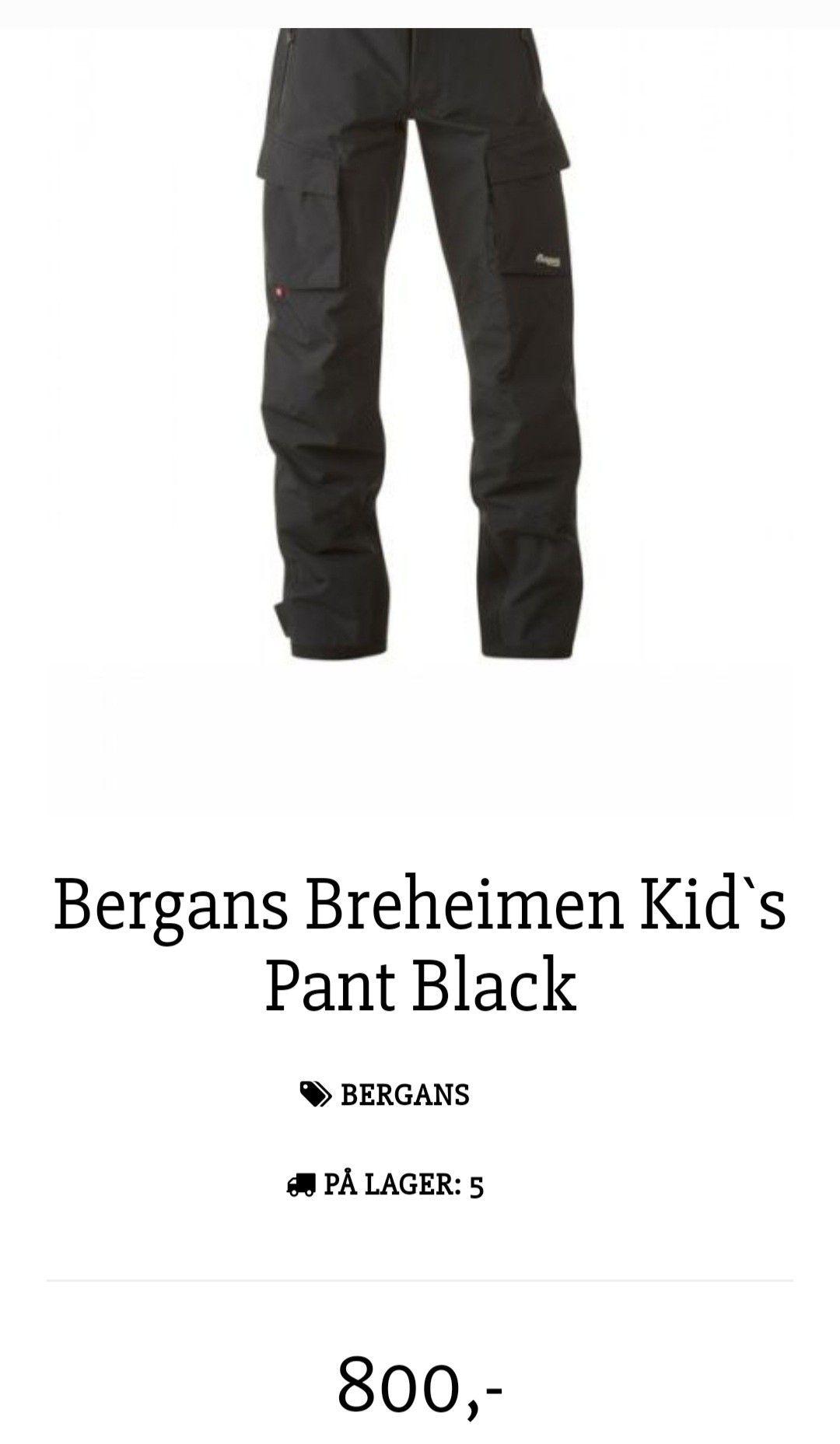 Bergans Breheimen | FINN.no
