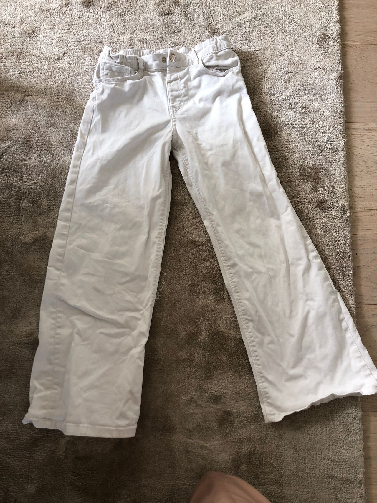Slengbukse jeans str 140 Zara   FINN.no
