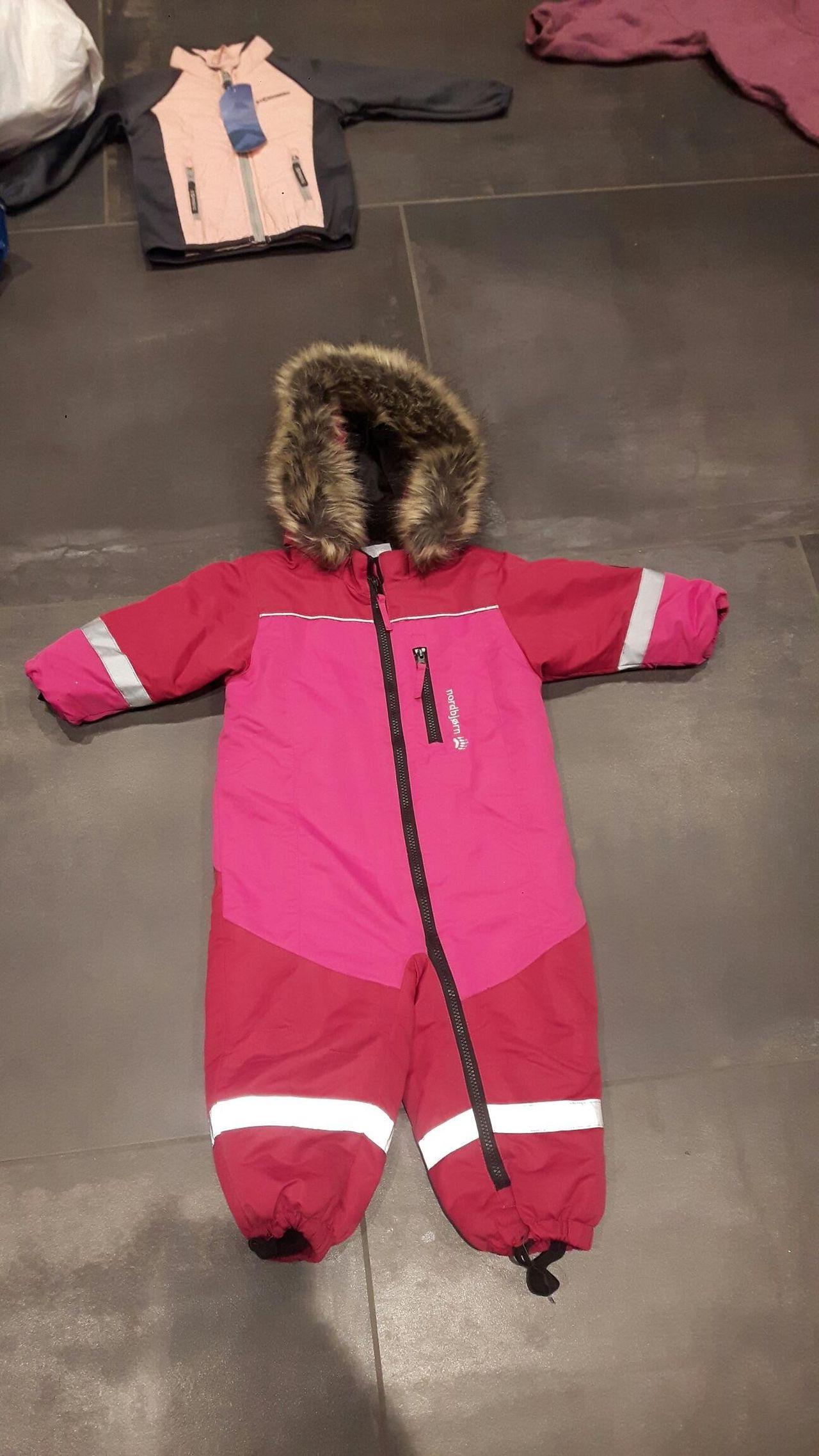 Nordbjørn vinterjakke med reflex str 100 | FINN.no