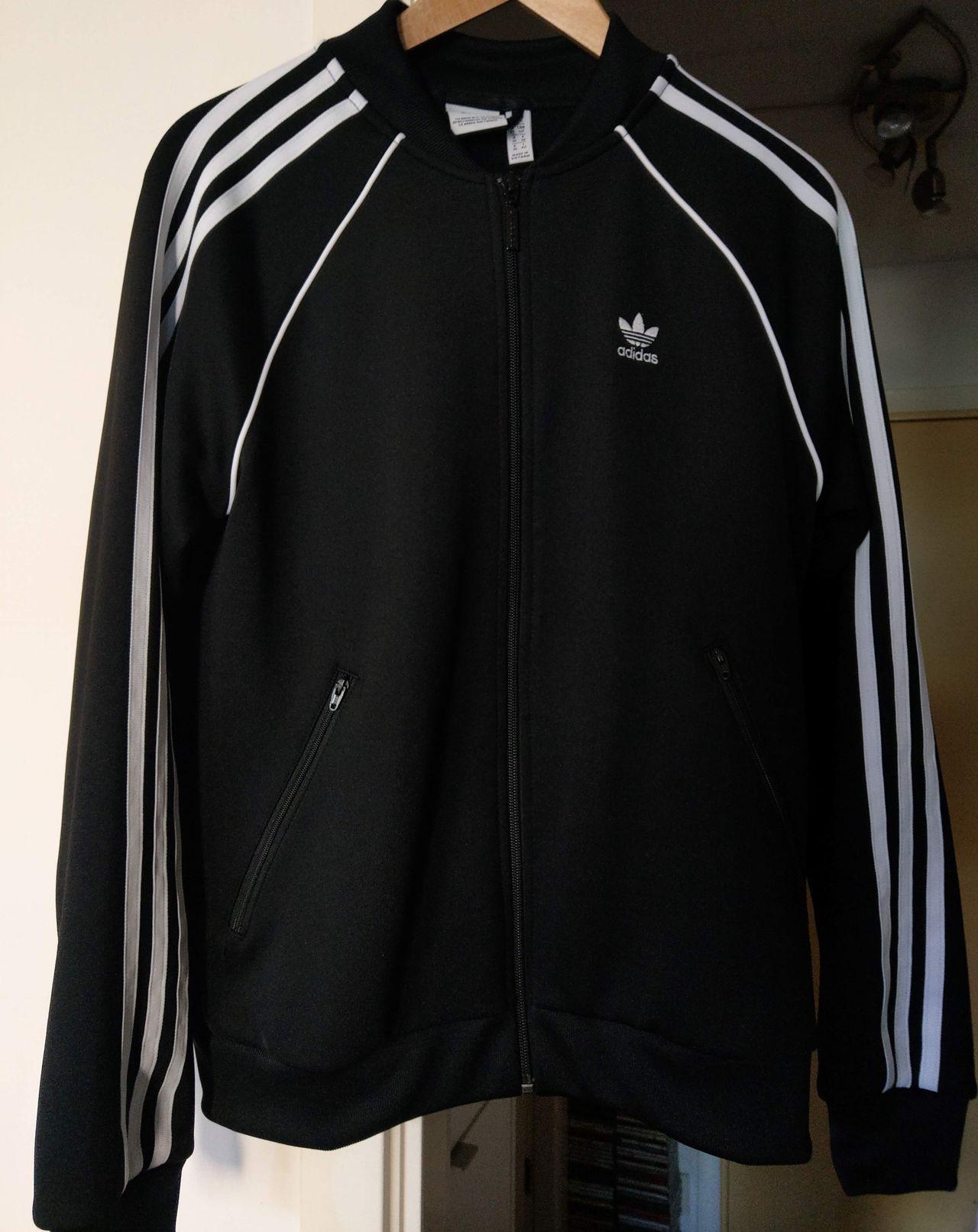 adidas originals track jacket sort Dame str.36 | FINN.no