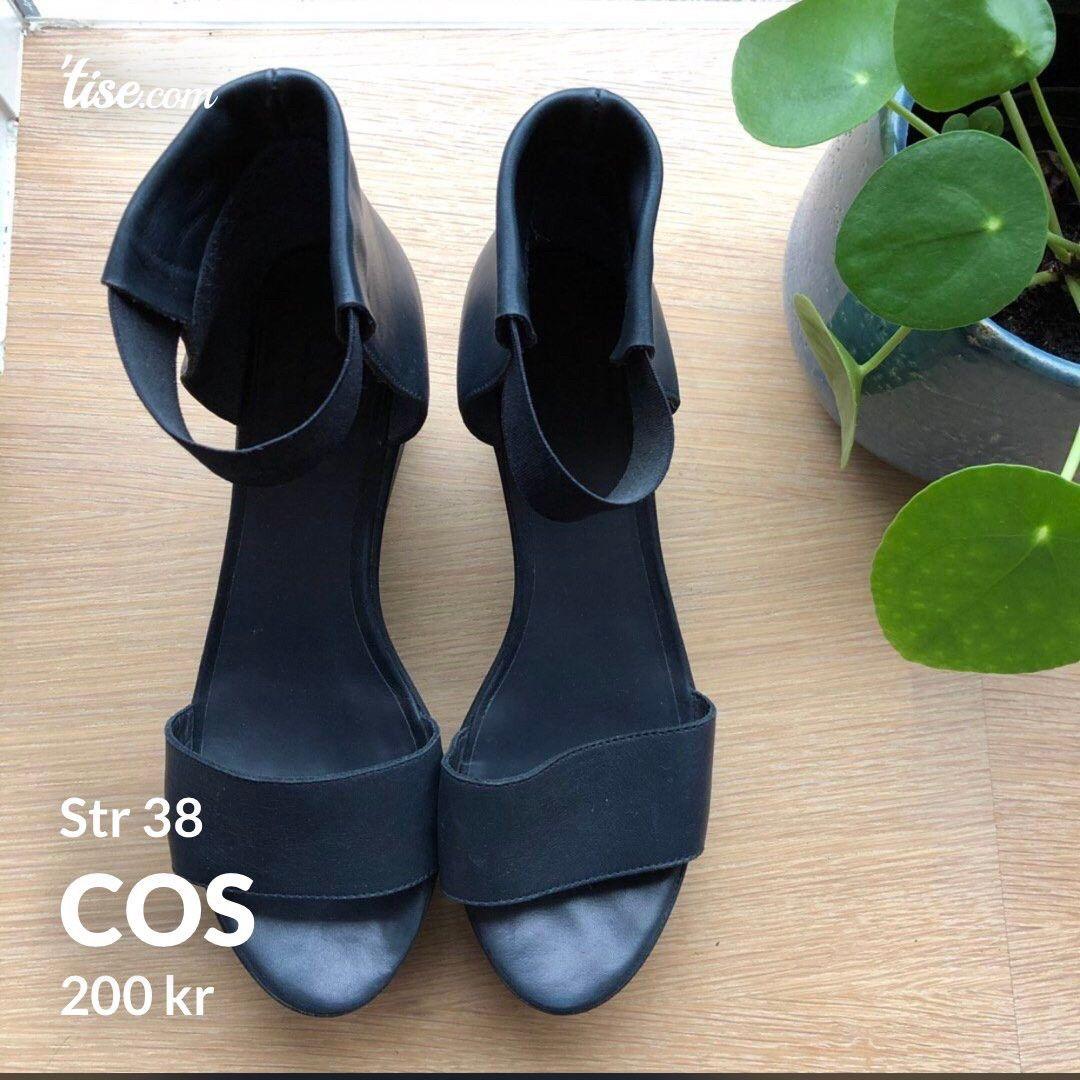 Cos sko i skinn str 36 | FINN.no