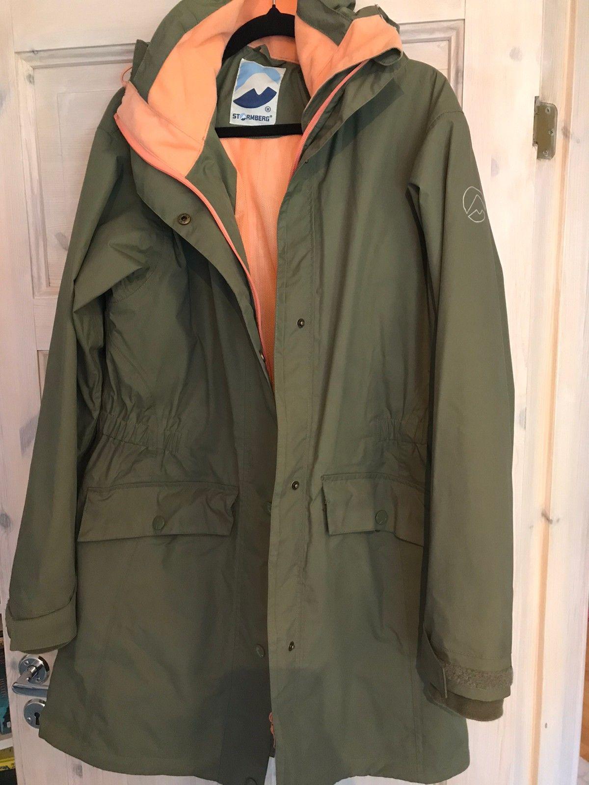 Stormberg grønn jakke Poretex   FINN.no