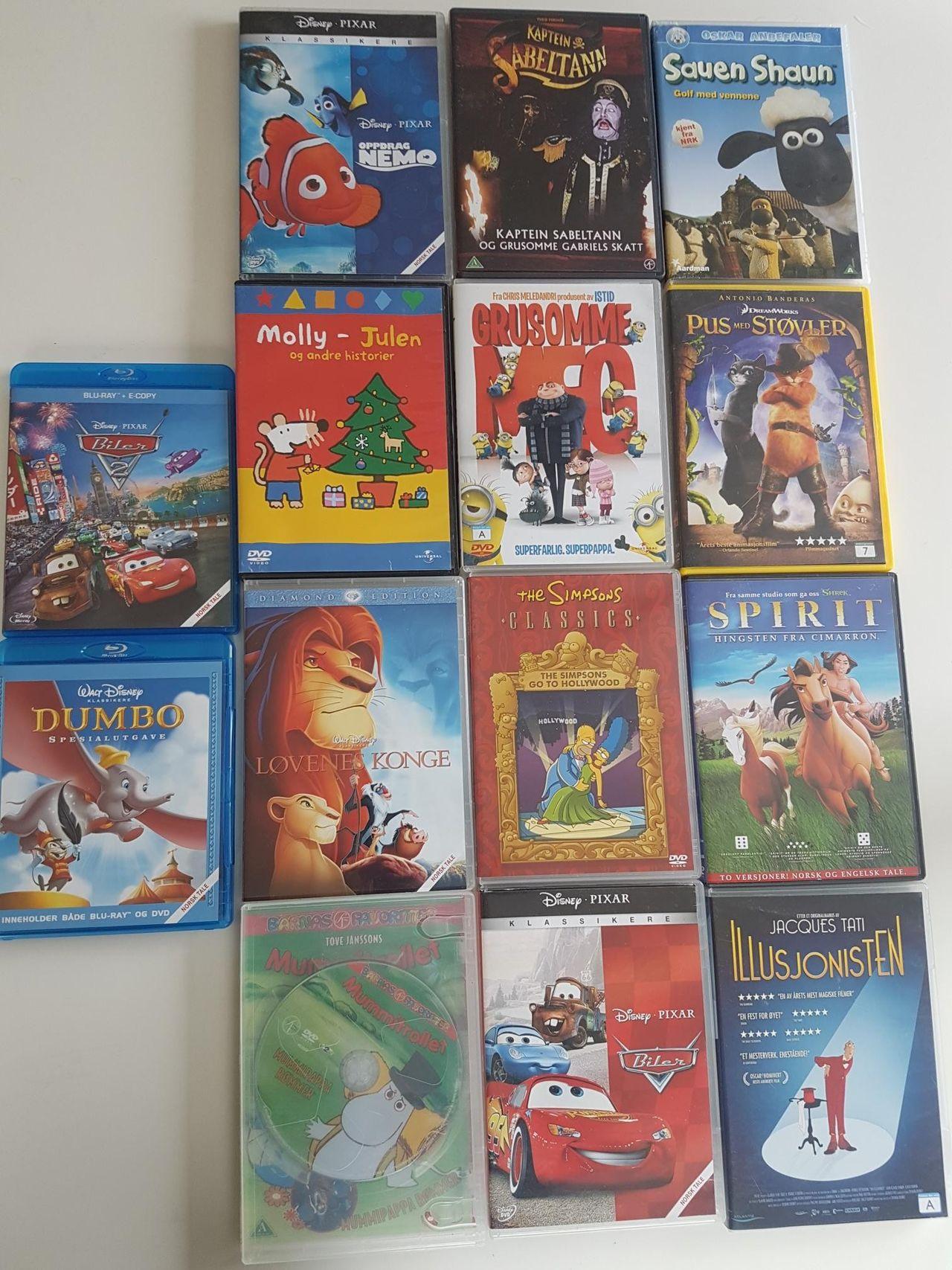 DVD Pus med støvler DVD » Bokklubben