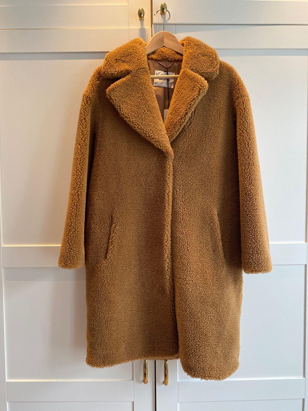 Camille Cocoon Coat (Beige) (3700 kr) Stand Studio