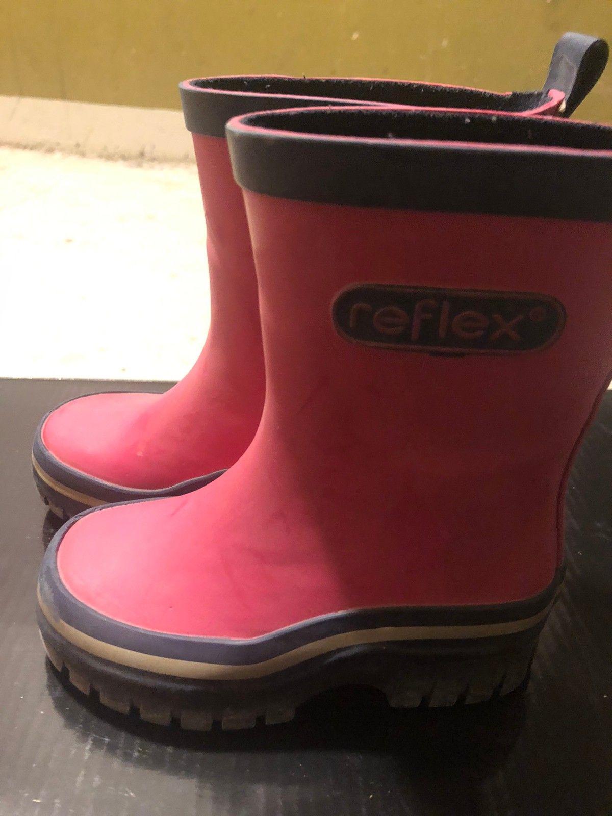 Reflex gummistøvler str. 22 | FINN.no