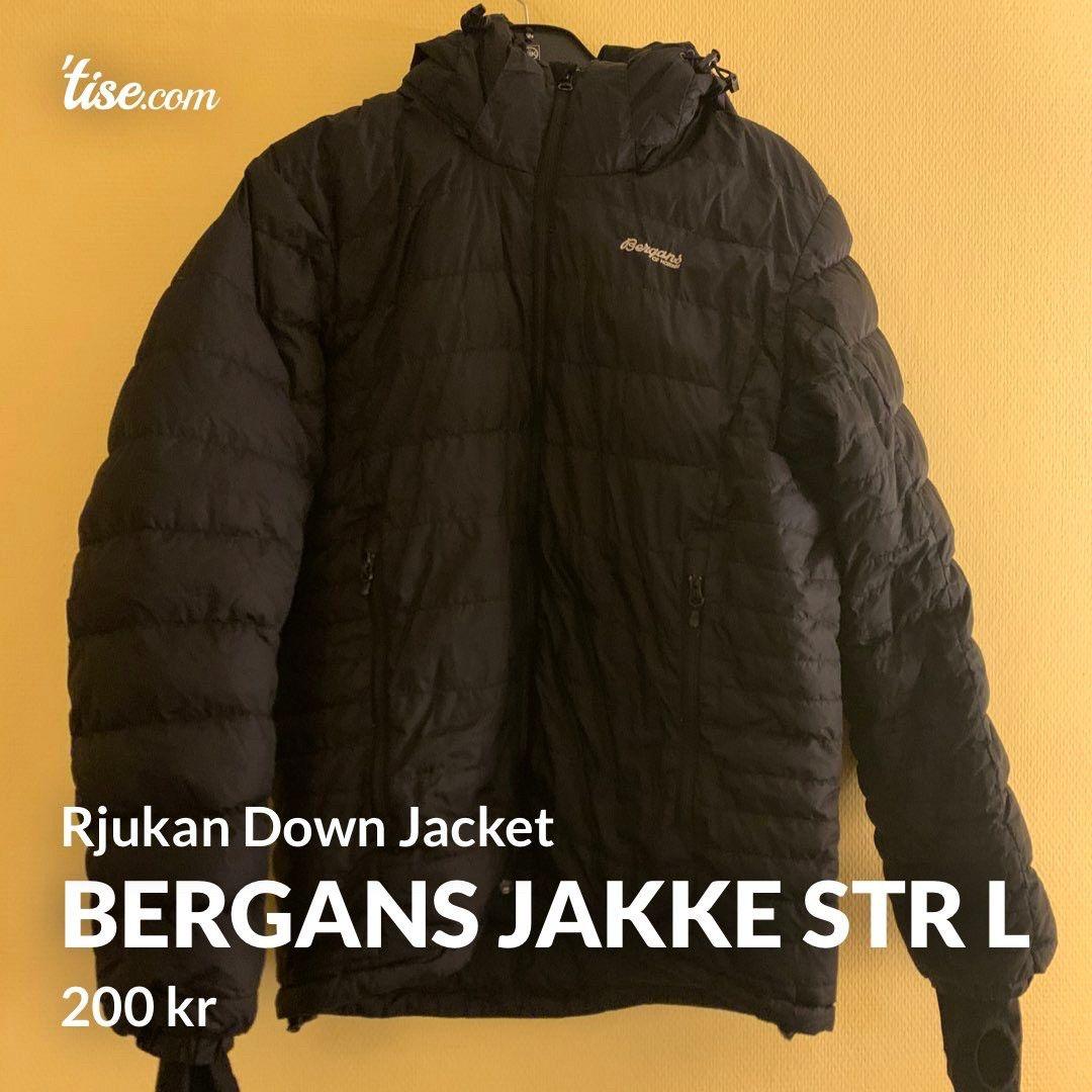 Bergans dunjakke Rjukan down JKT   FINN.no