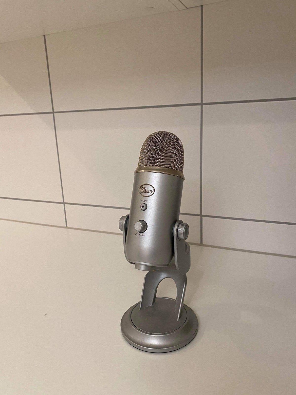 Blue Microphones Yeti USB mikrofon (sort) | FINN.no