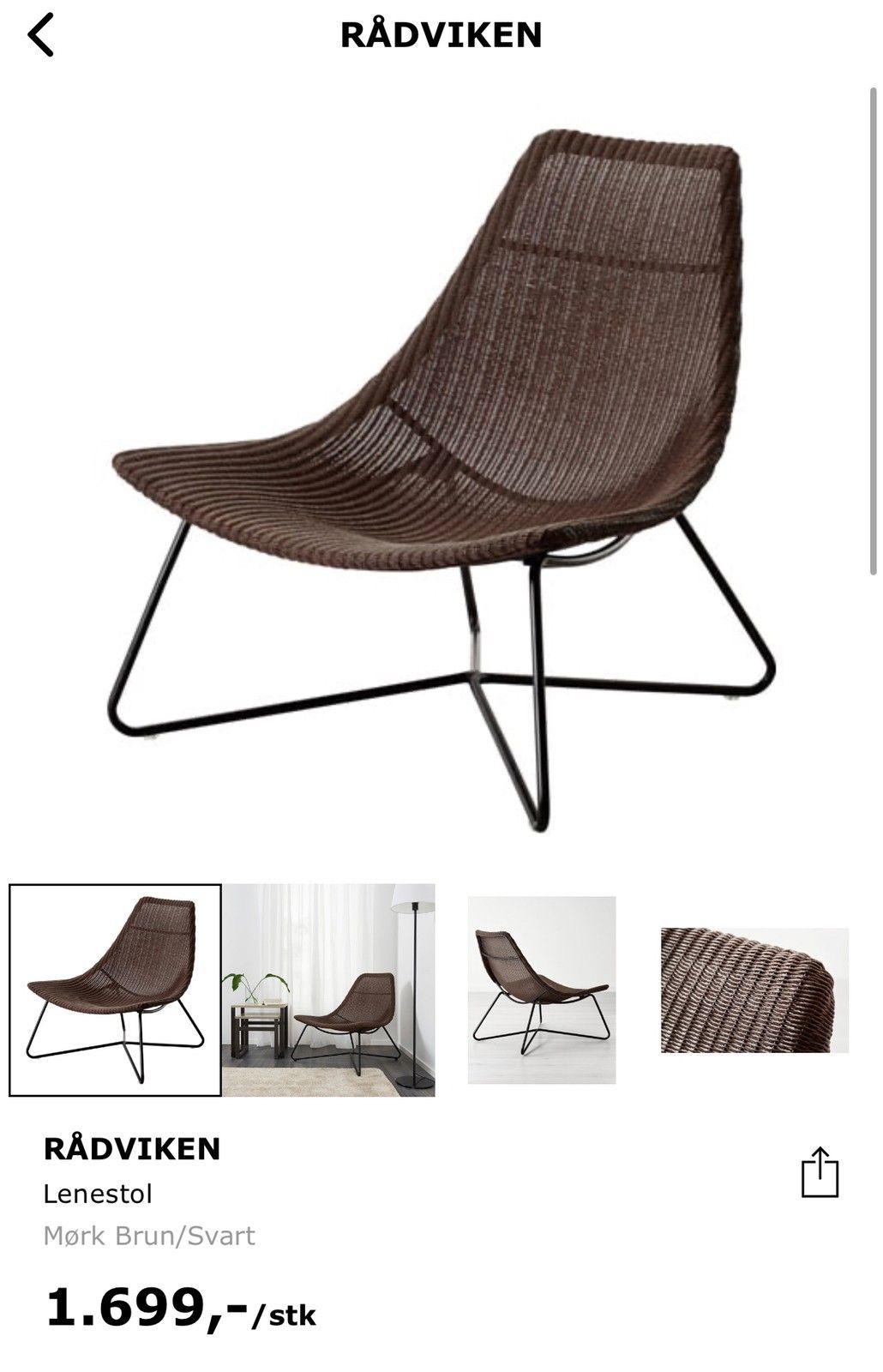 Rådviken lenestol fra IKEA | FINN.no