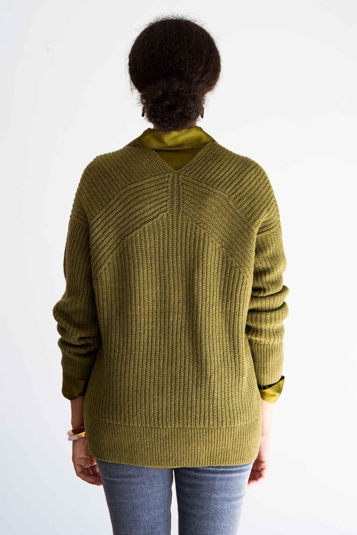 form fitting genser gul
