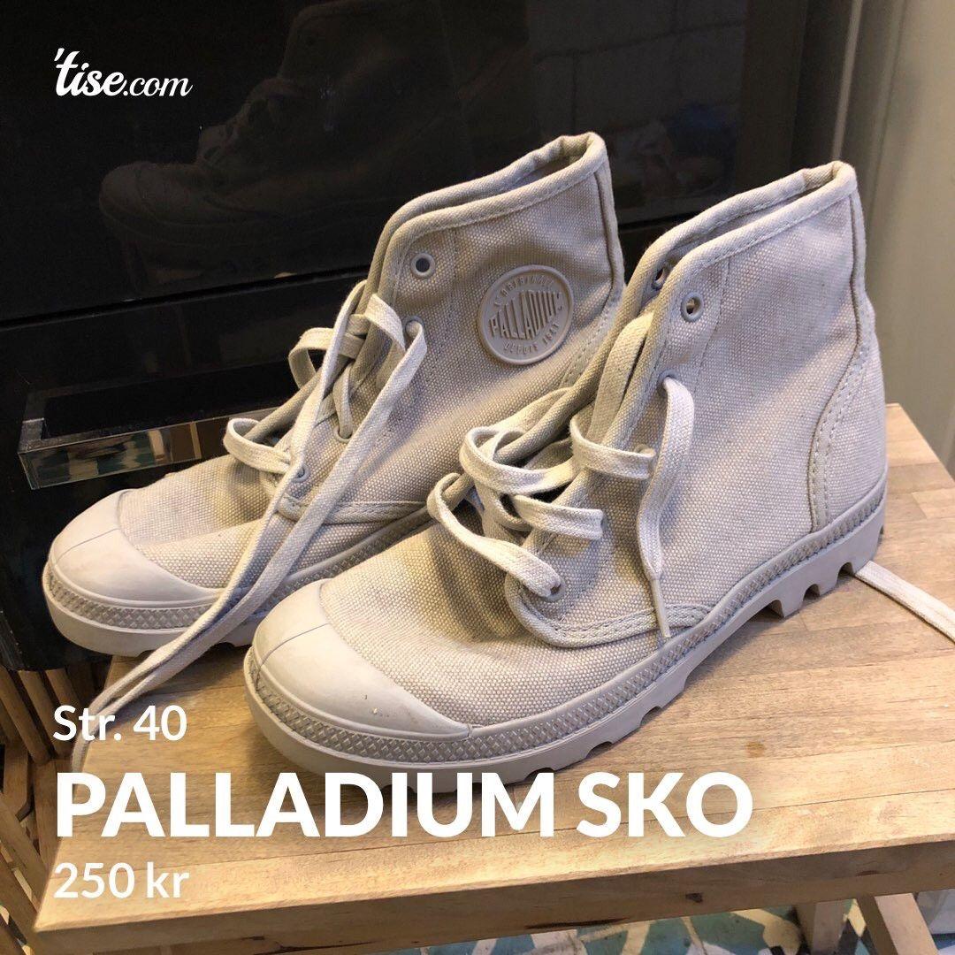 Gråe Palladium sko   FINN.no