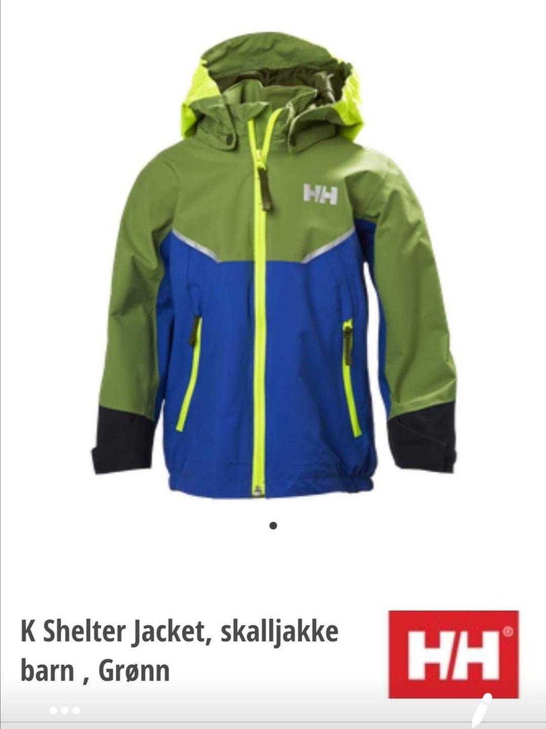 Helly Hansen Shelter jakke og bukse str 98 | FINN.no
