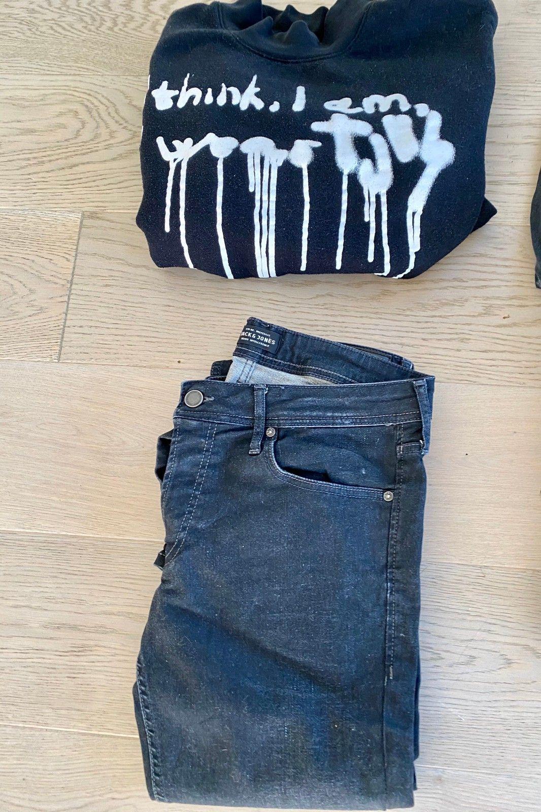 6 jeansbukser herre (+en genser). | FINN.no