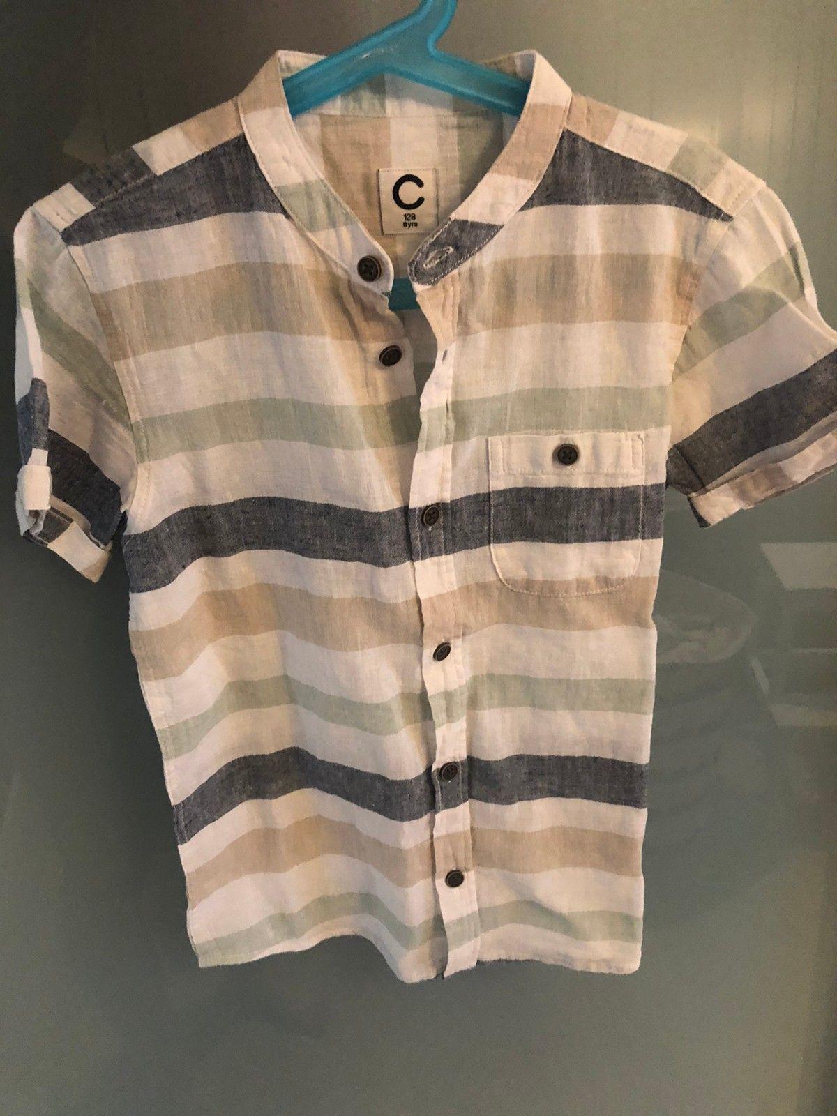 Kortermet skjorter til gutt str 134140 | FINN.no
