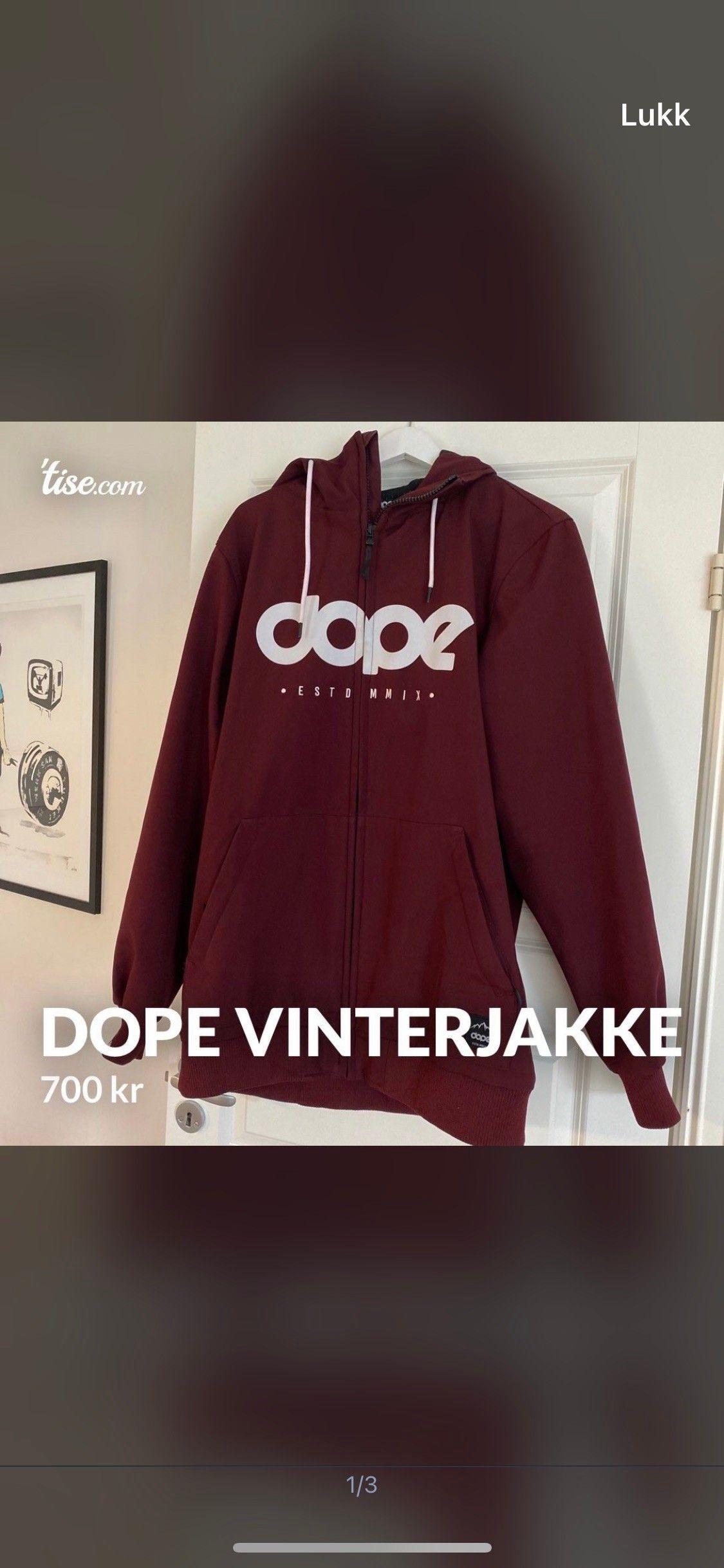 Dope fleecegenser | FINN.no