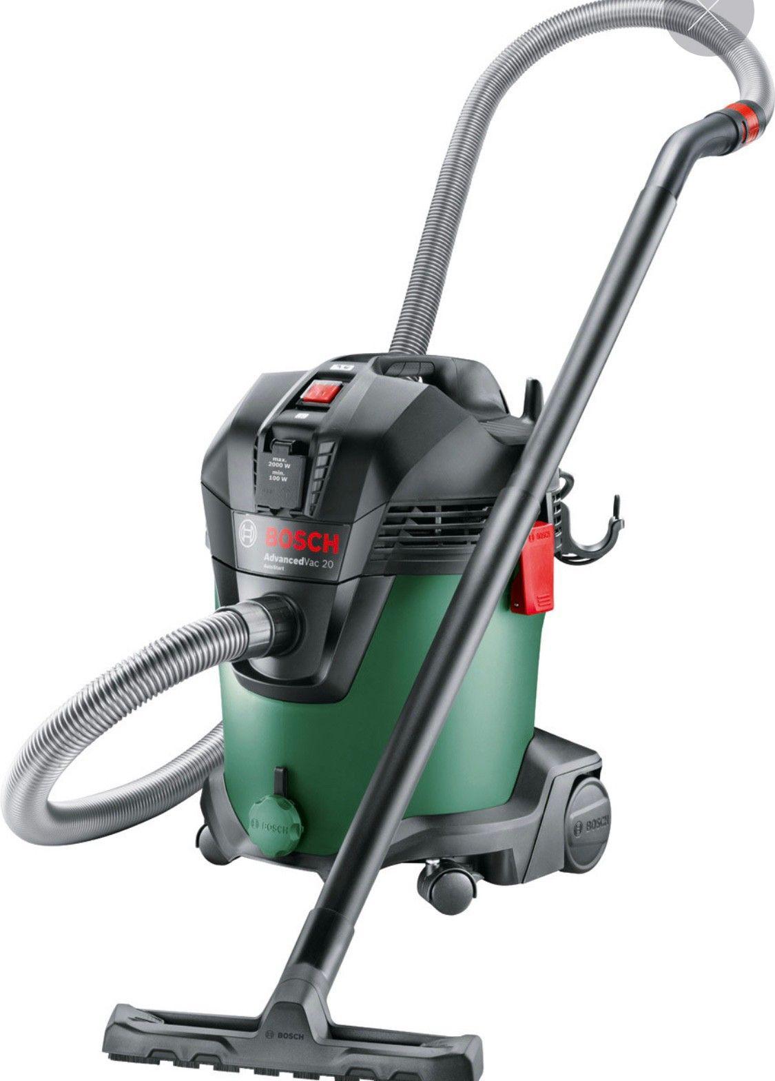 Bosch oppladbar støvsuger med avtagbar minisuger   FINN.no