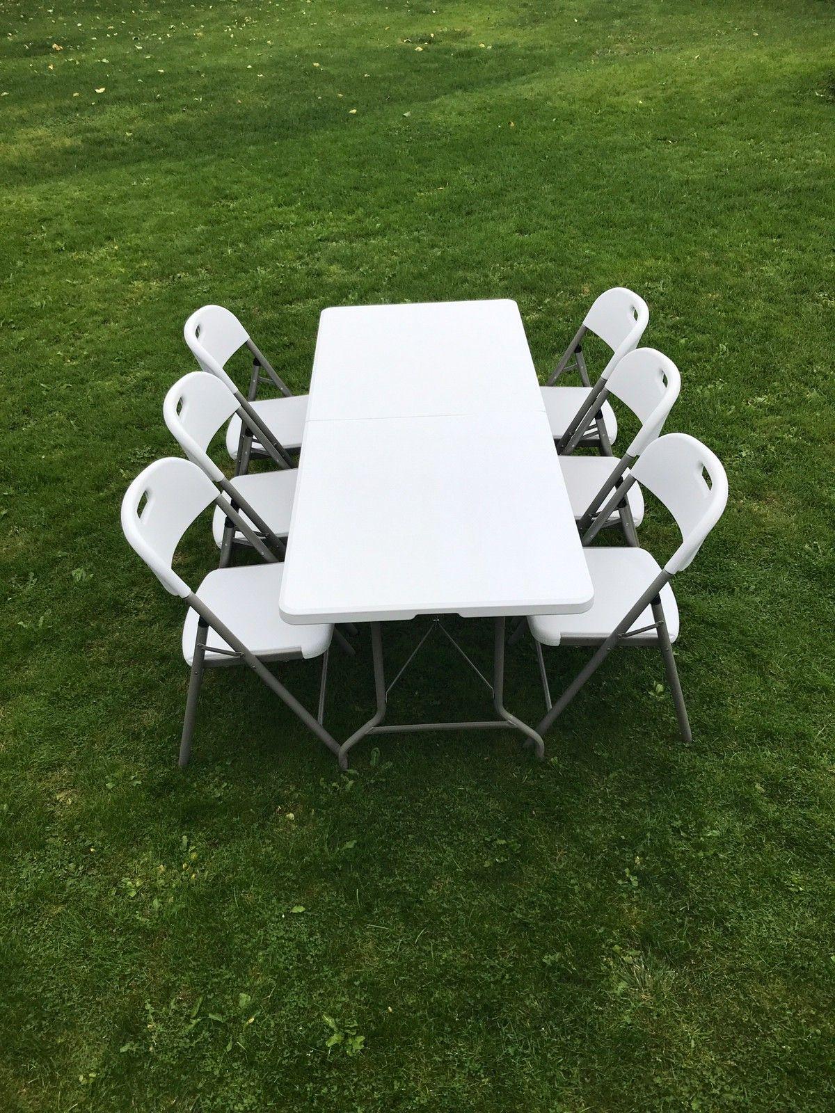 Leier ut sammenleggbare bord og klappstoler   FINN.no