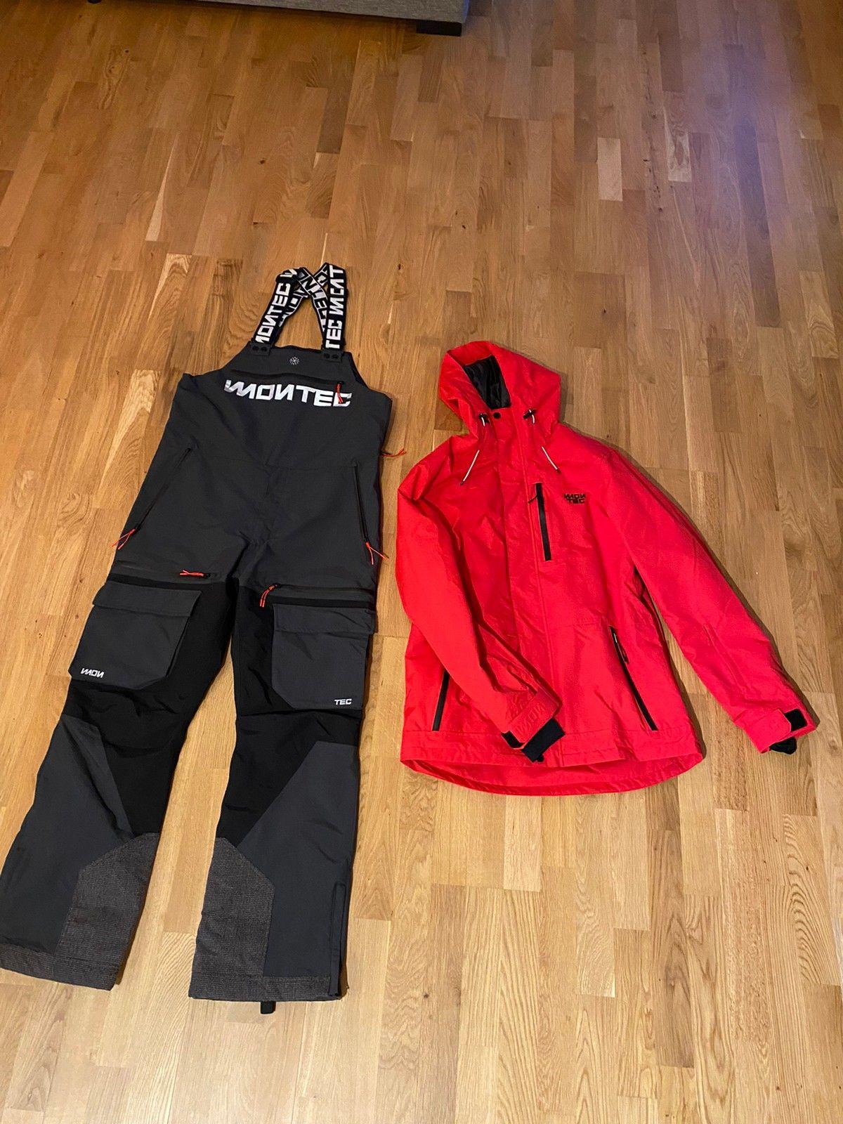 Skijakke og bukse med seler | FINN.no