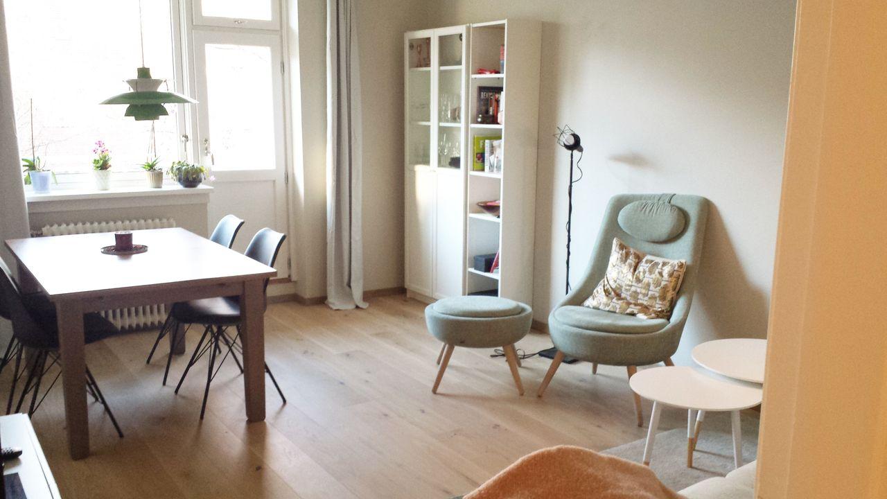 Fin mintgrønn stol! | FINN.no