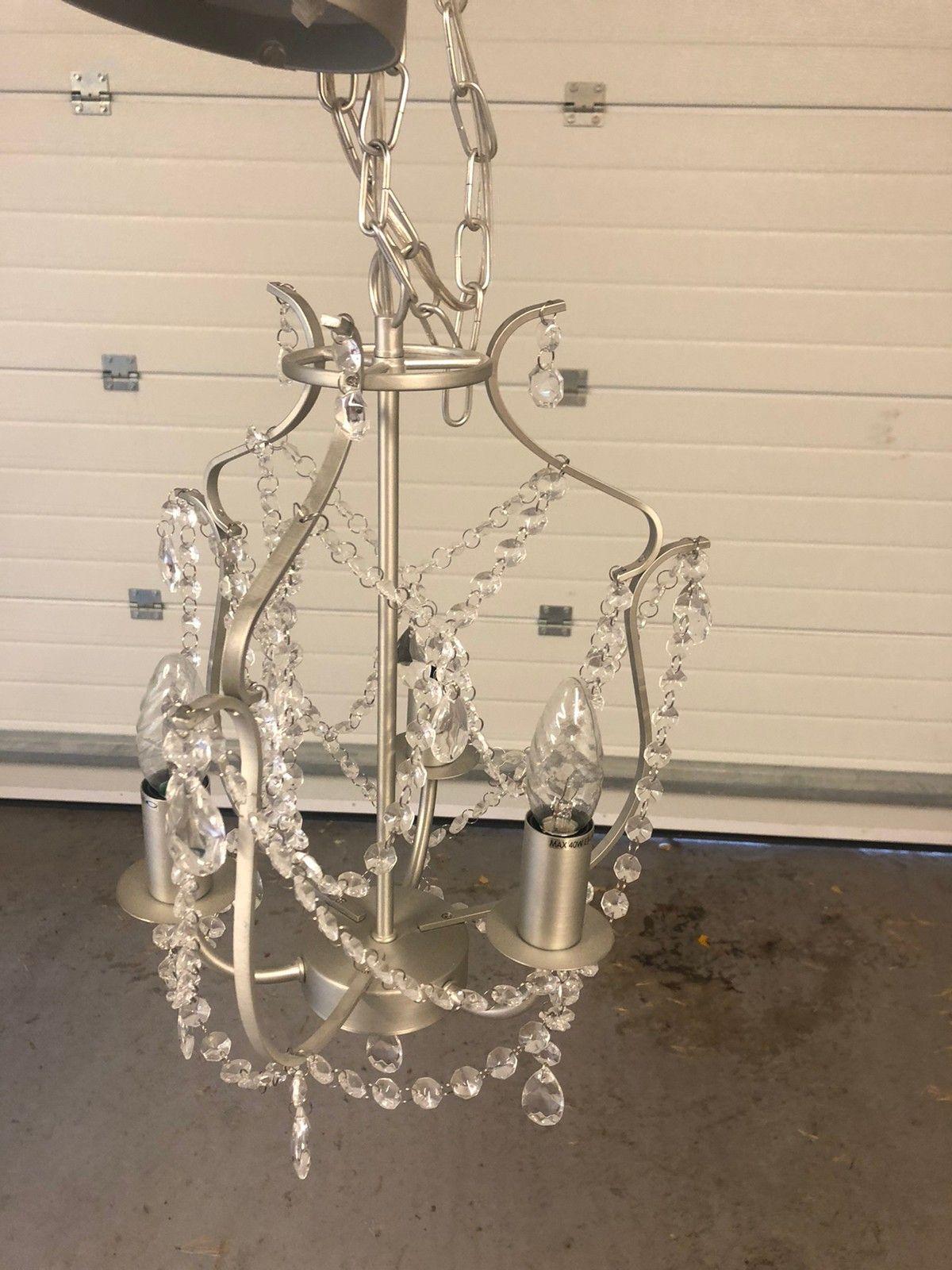 Lysekrone fra ikea   FINN.no