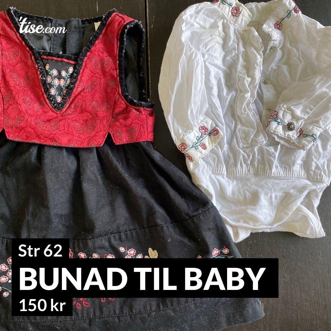 Bunad Til Baby Str 62