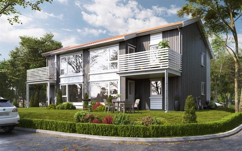 Meglerhuset & Partners Arendal - Tomannsbolig - 2 490 000,-
