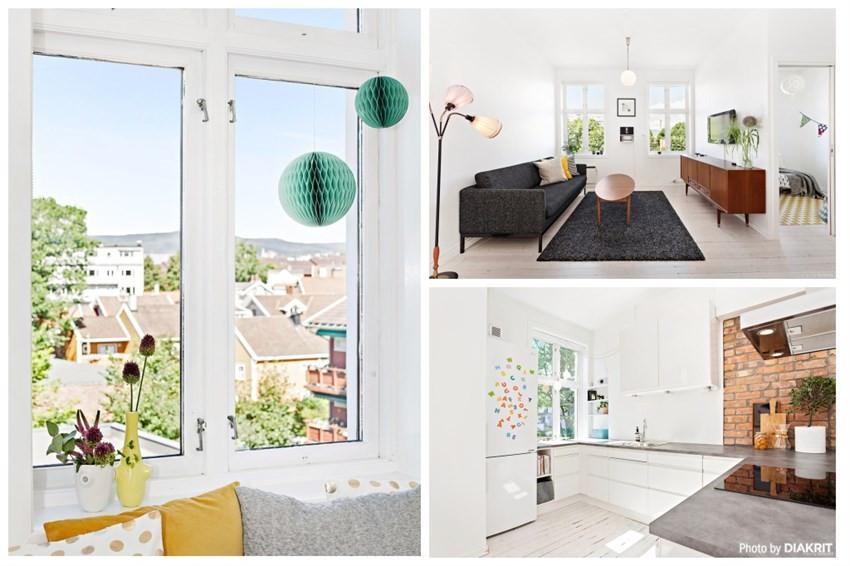 Schala & Partners Sagene - Leilighet - Grünerløkka - Sofienberg - 3 800 000,-