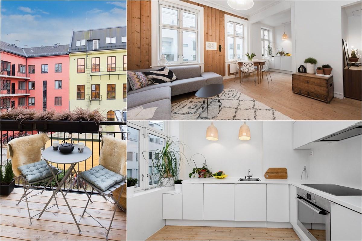 Schala & Partners Sagene - Leilighet - Gamle Oslo - 4 300 000,-