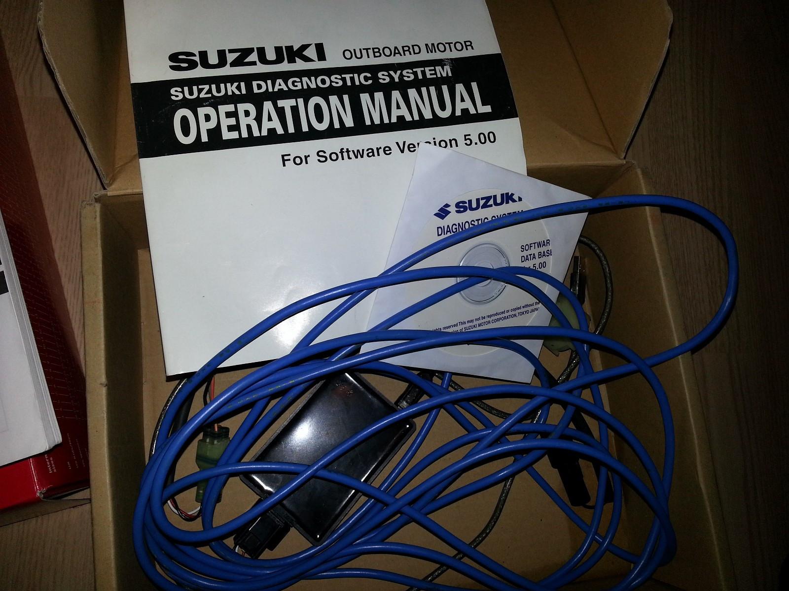 Suzuki SDS diagnoseverktøy og service manual | FINN no