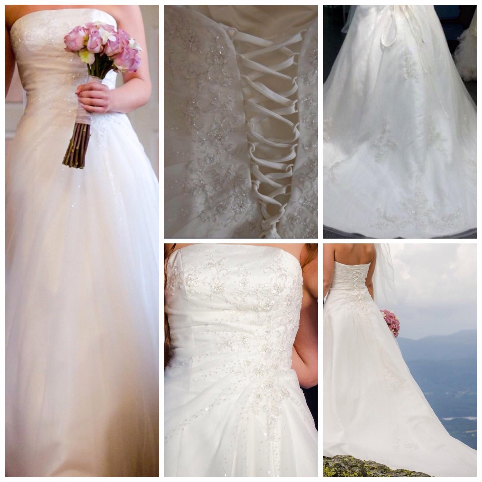 40854b63 Nydelig Agape brudekjole selges | FINN.no